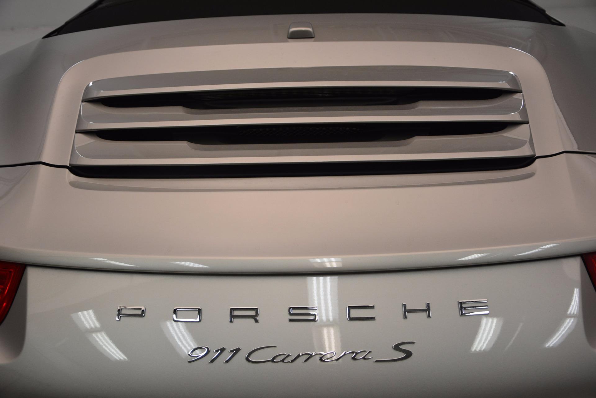 Used 2012 Porsche 911 Carrera S For Sale In Greenwich, CT 1790_p39