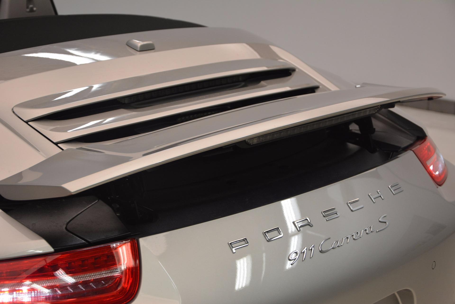 Used 2012 Porsche 911 Carrera S For Sale In Greenwich, CT 1790_p41