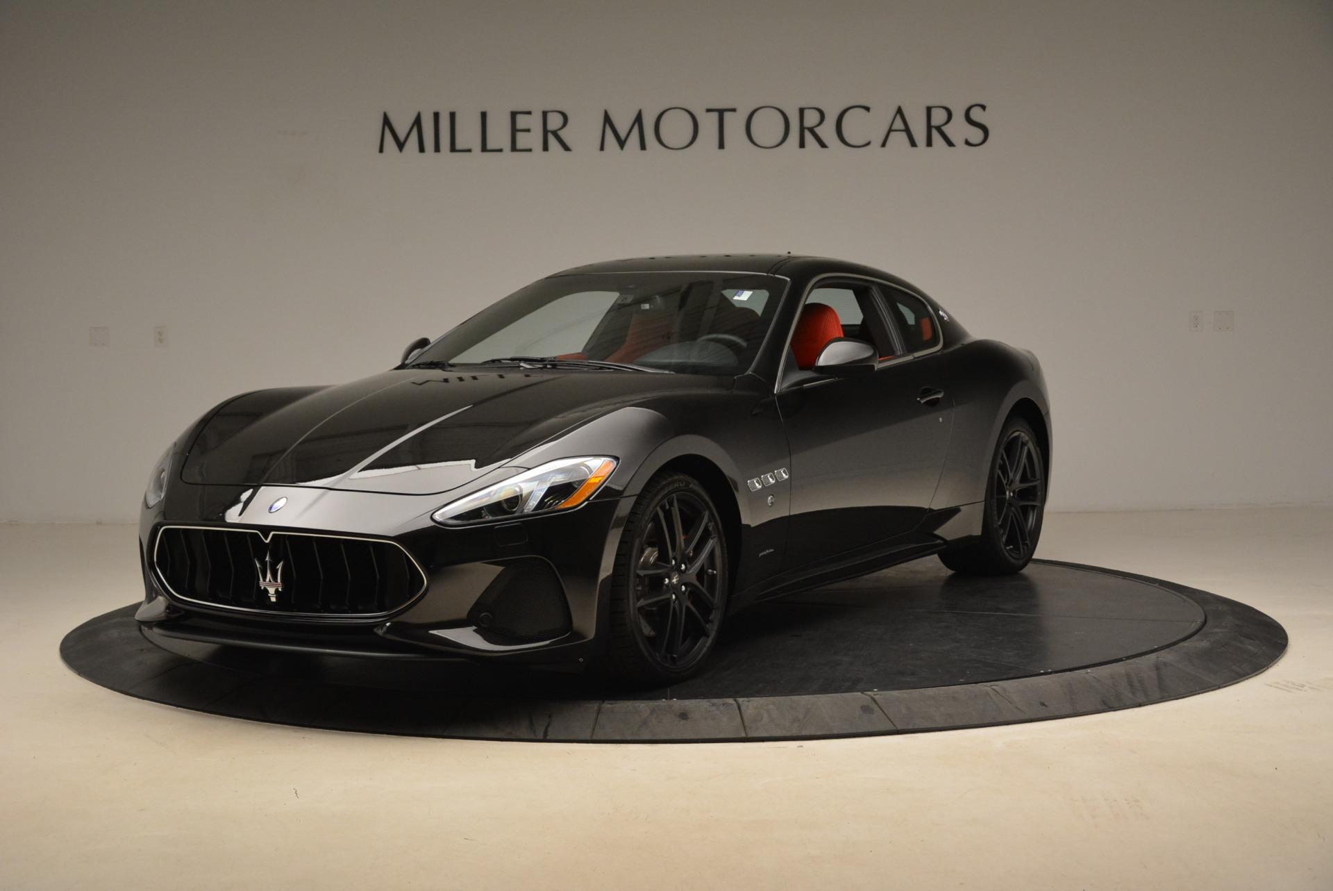 New 2018 Maserati GranTurismo Sport For Sale In Greenwich, CT 1799_main