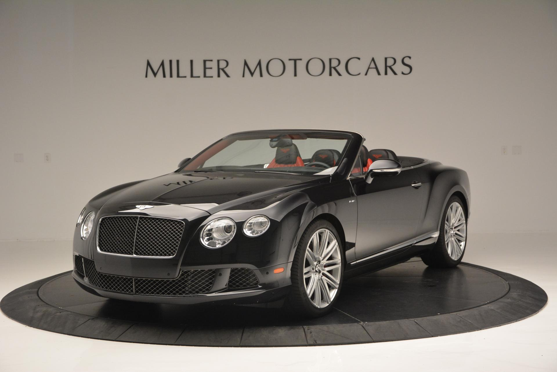 Used 2014 Bentley Continental GT Speed Convertible For Sale In Greenwich, CT 18_main