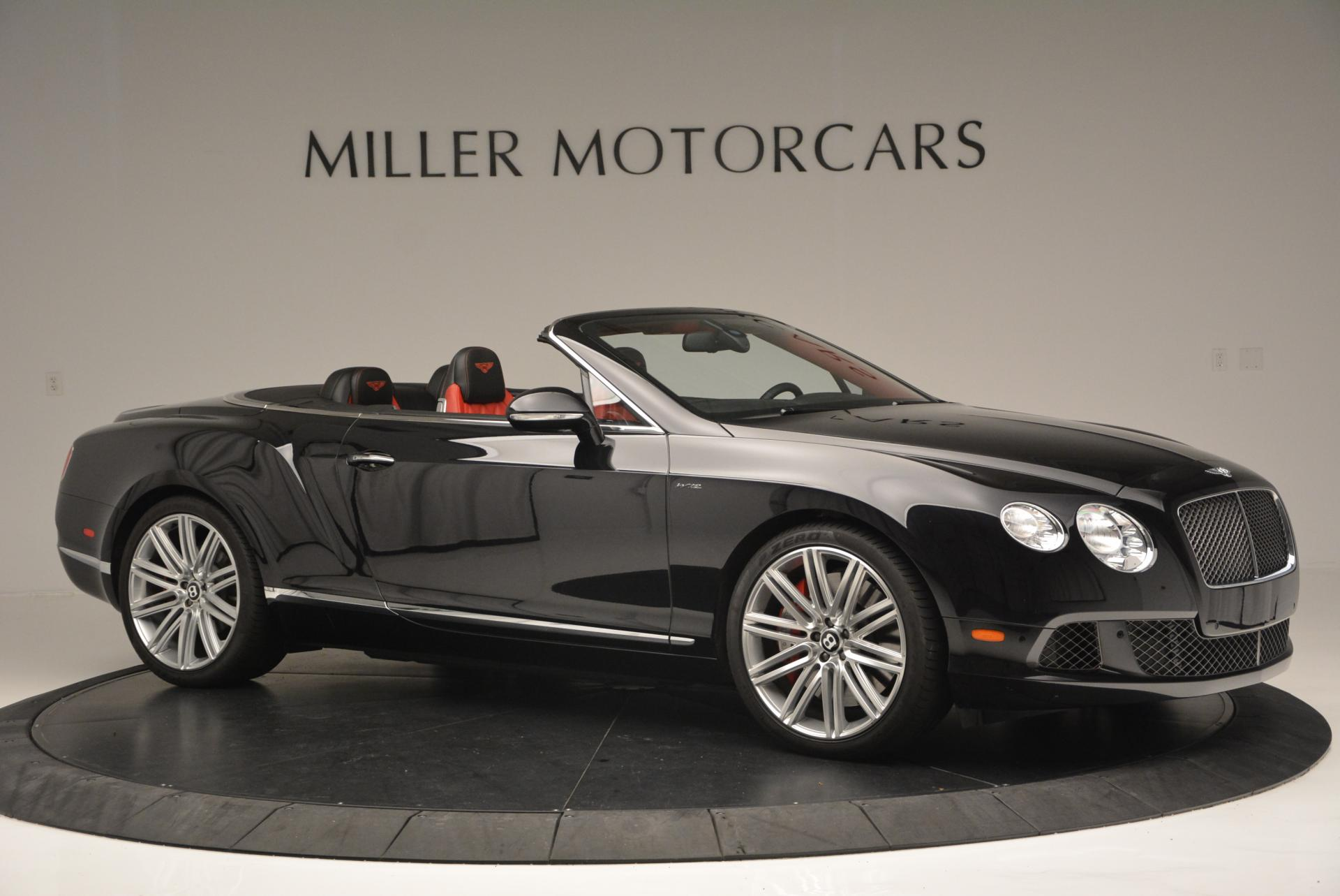 Used 2014 Bentley Continental GT Speed Convertible For Sale In Greenwich, CT 18_p10