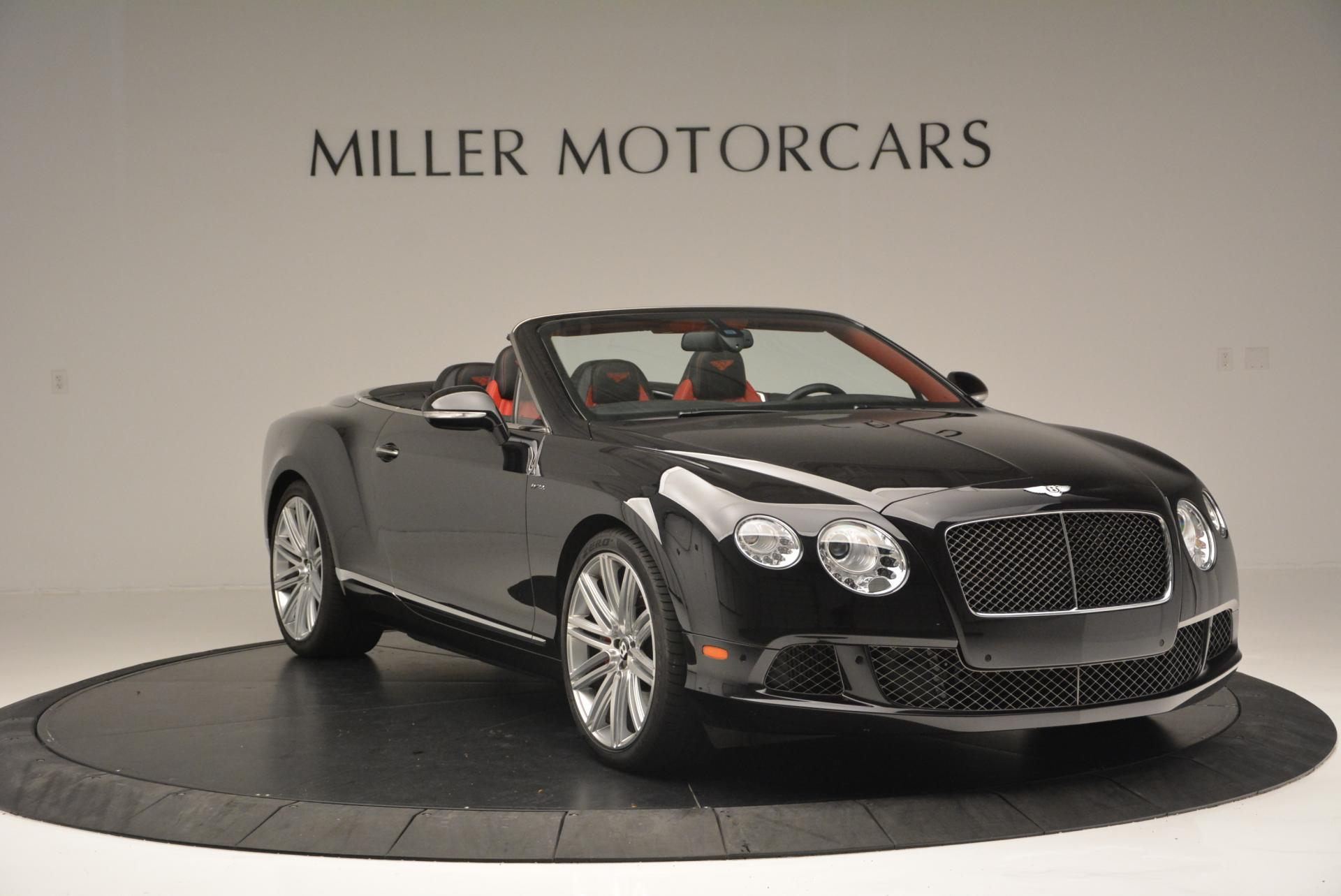 Used 2014 Bentley Continental GT Speed Convertible For Sale In Greenwich, CT 18_p11