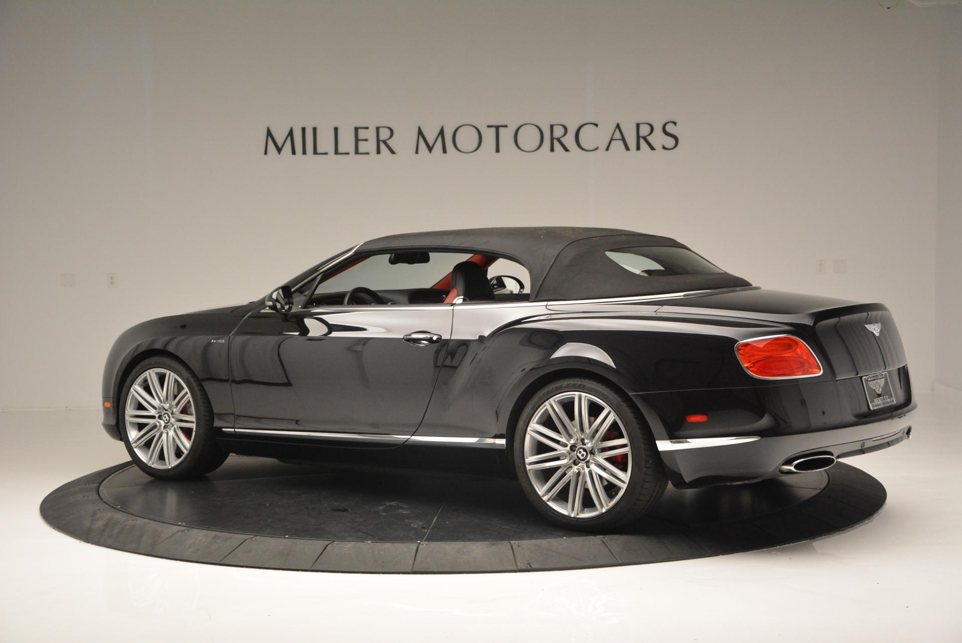 Used 2014 Bentley Continental GT Speed Convertible For Sale In Greenwich, CT 18_p17