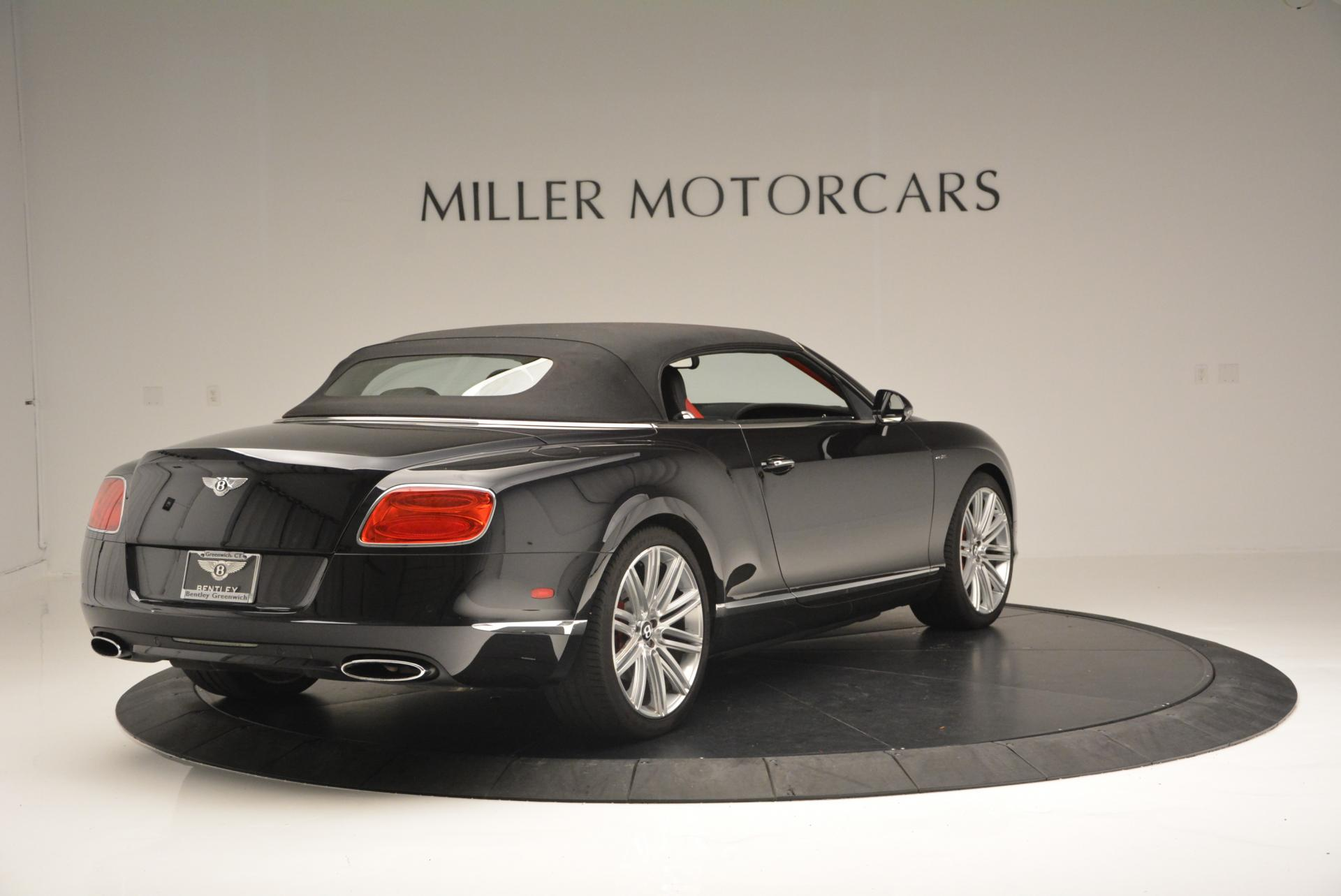 Used 2014 Bentley Continental GT Speed Convertible For Sale In Greenwich, CT 18_p20