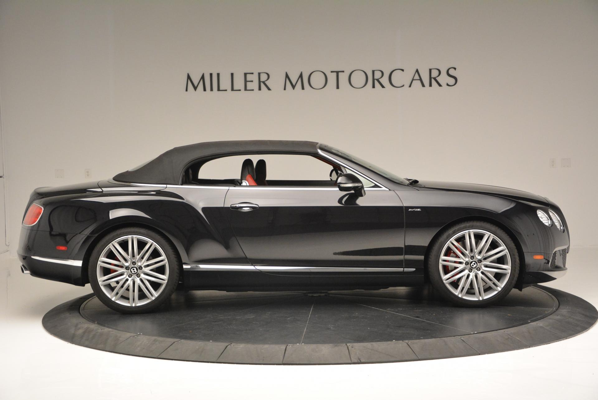 Used 2014 Bentley Continental GT Speed Convertible For Sale In Greenwich, CT 18_p22