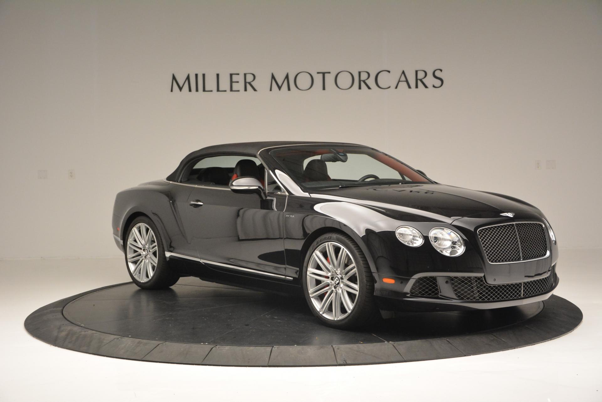 Used 2014 Bentley Continental GT Speed Convertible For Sale In Greenwich, CT 18_p23