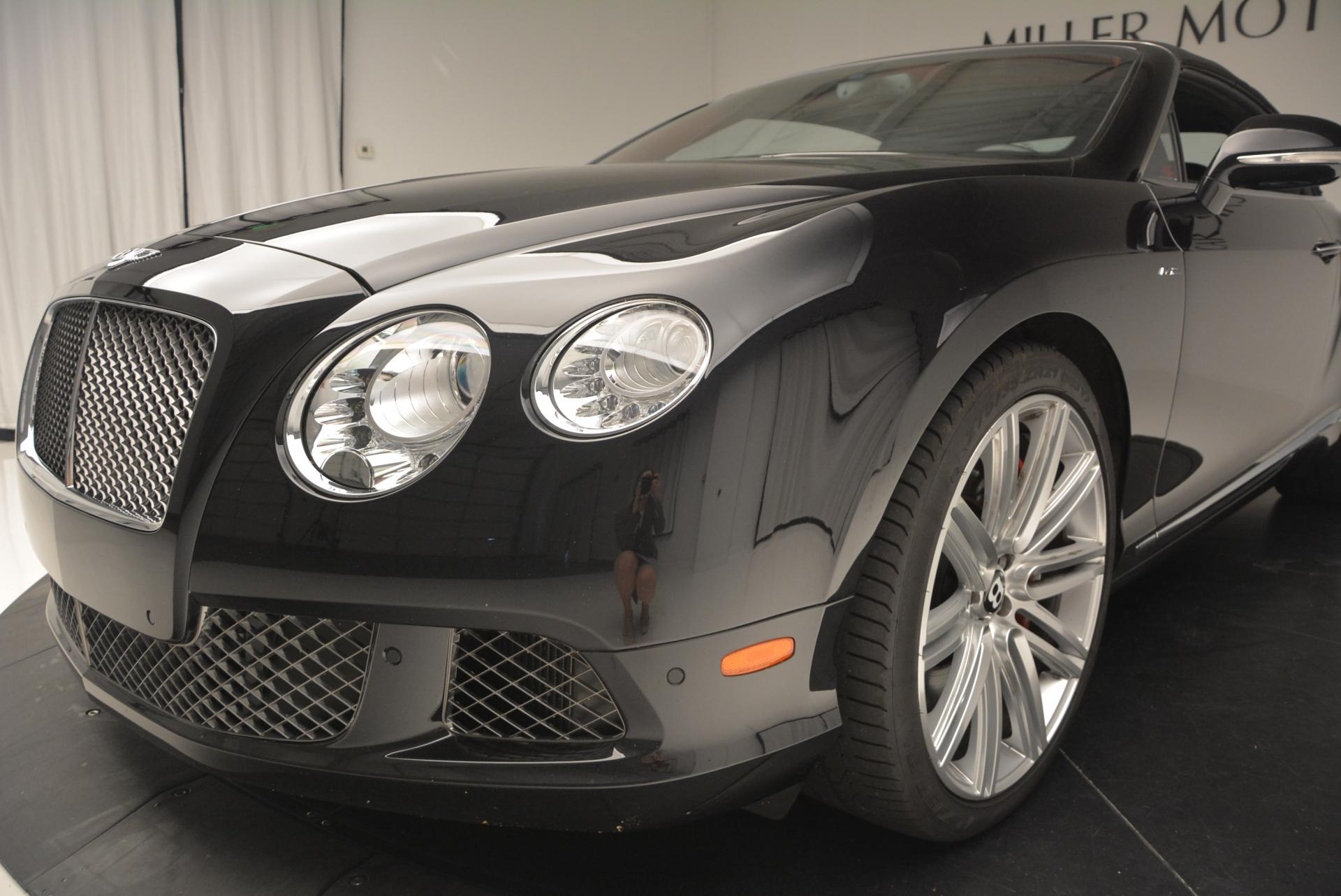 Used 2014 Bentley Continental GT Speed Convertible For Sale In Greenwich, CT 18_p26