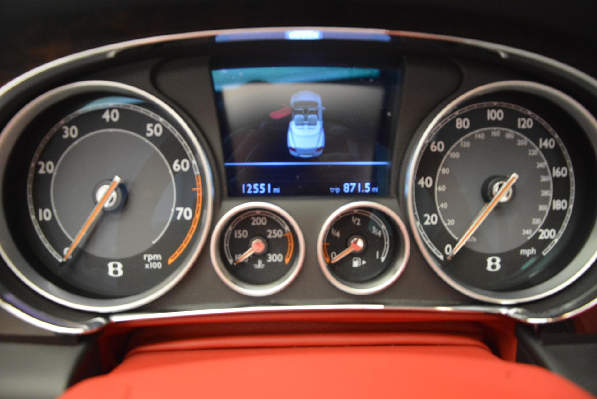 Used 2014 Bentley Continental GT Speed Convertible For Sale In Greenwich, CT 18_p37