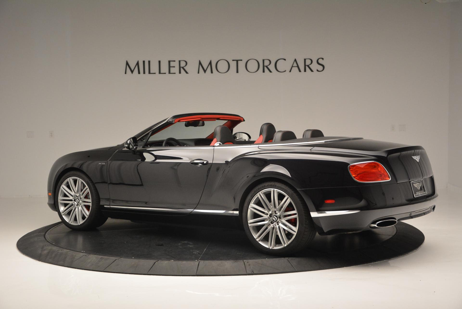 Used 2014 Bentley Continental GT Speed Convertible For Sale In Greenwich, CT 18_p4
