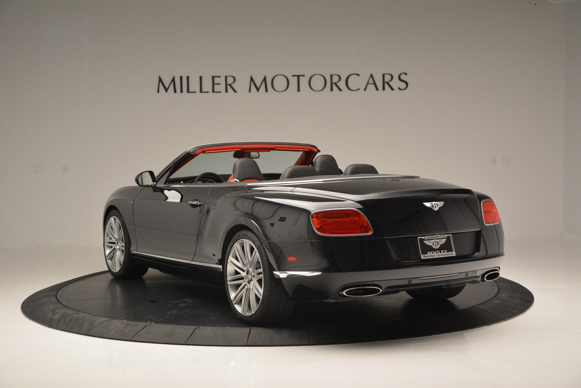 Used 2014 Bentley Continental GT Speed Convertible For Sale In Greenwich, CT 18_p5