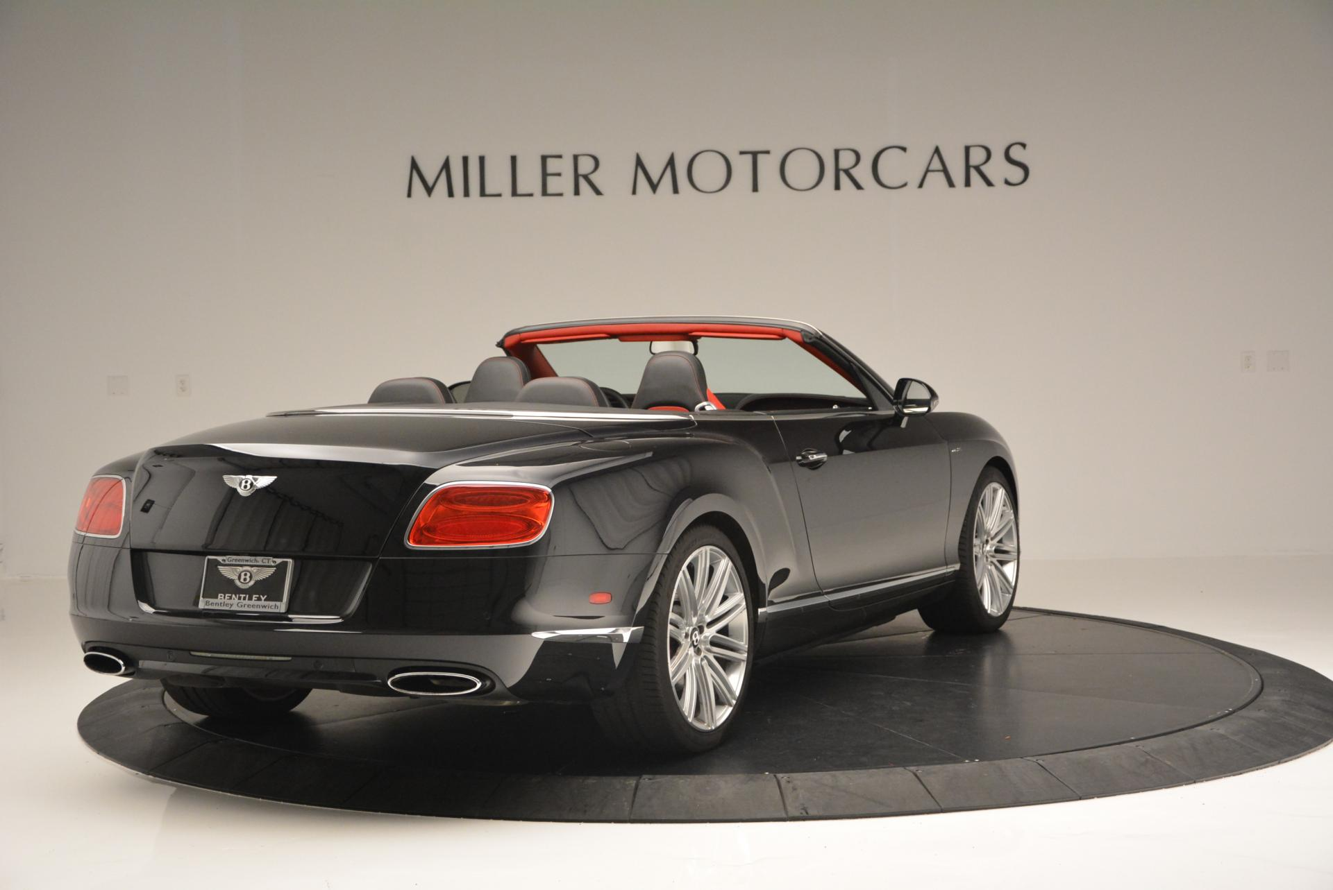 Used 2014 Bentley Continental GT Speed Convertible For Sale In Greenwich, CT 18_p7