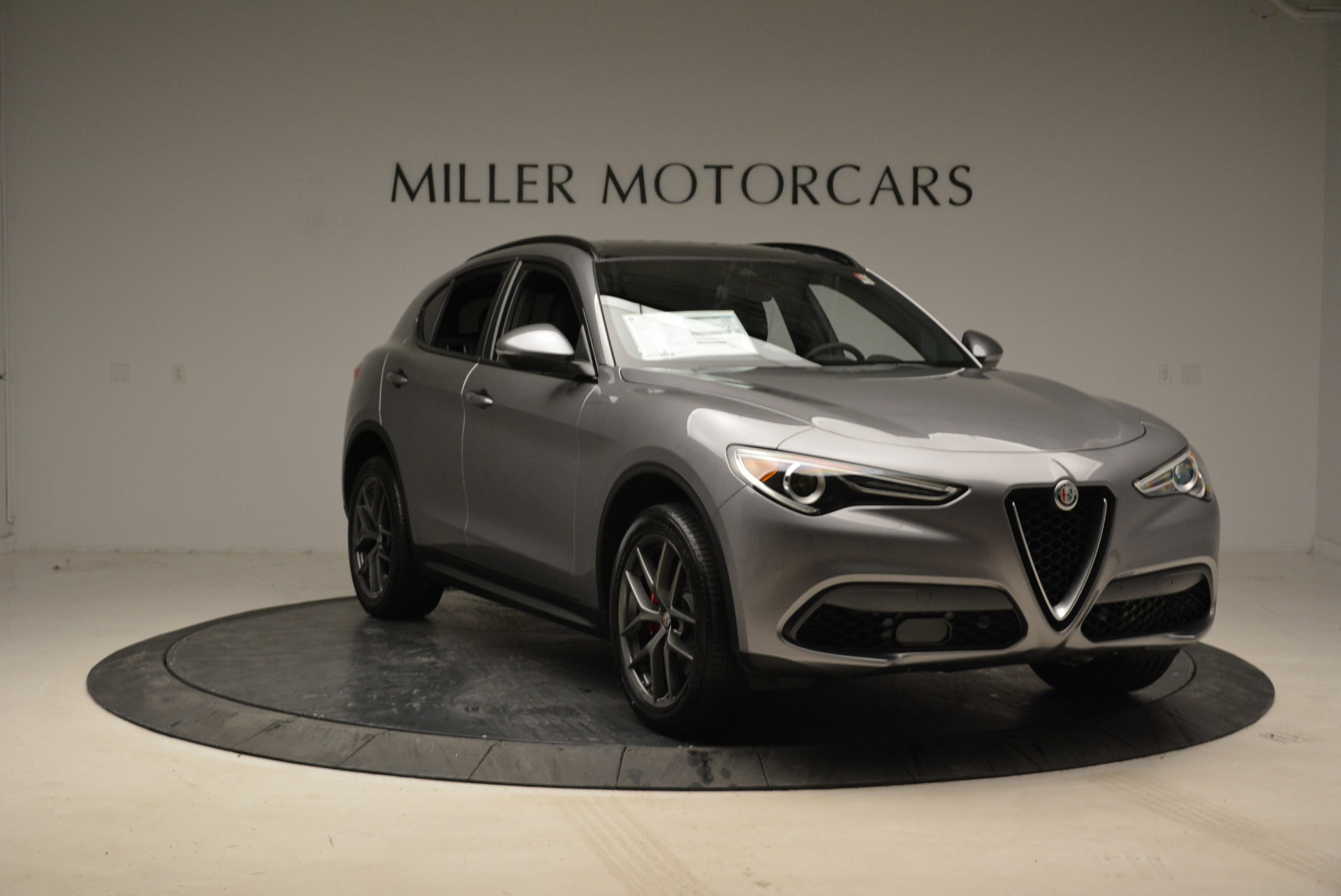 New 2018 Alfa Romeo Stelvio Ti Sport Q4 For Sale In Greenwich, CT 1805_p11