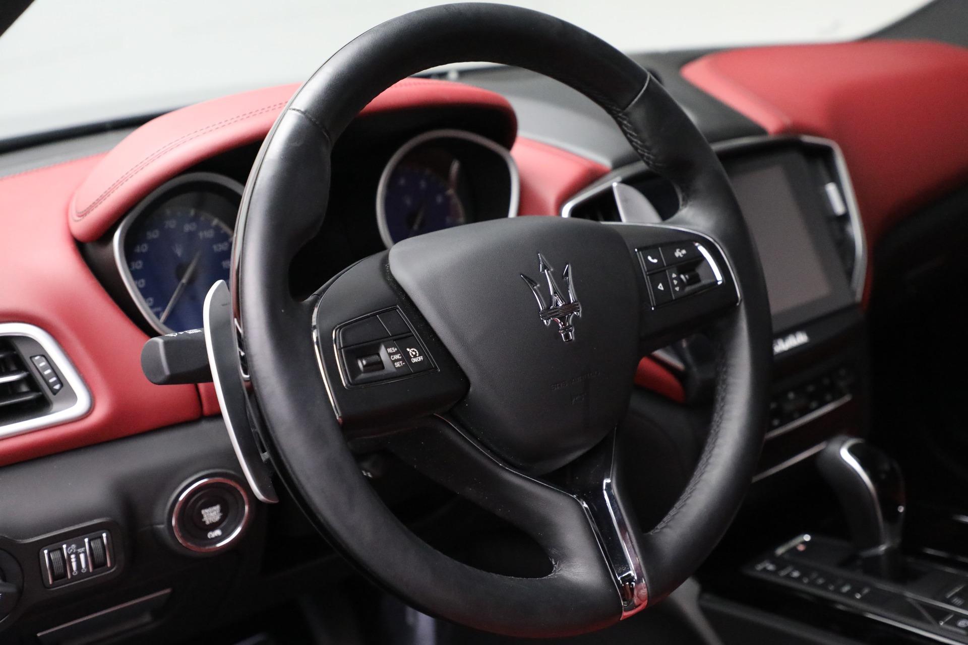 New 2018 Maserati Ghibli S Q4 GranLusso For Sale In Greenwich, CT 1810_p17