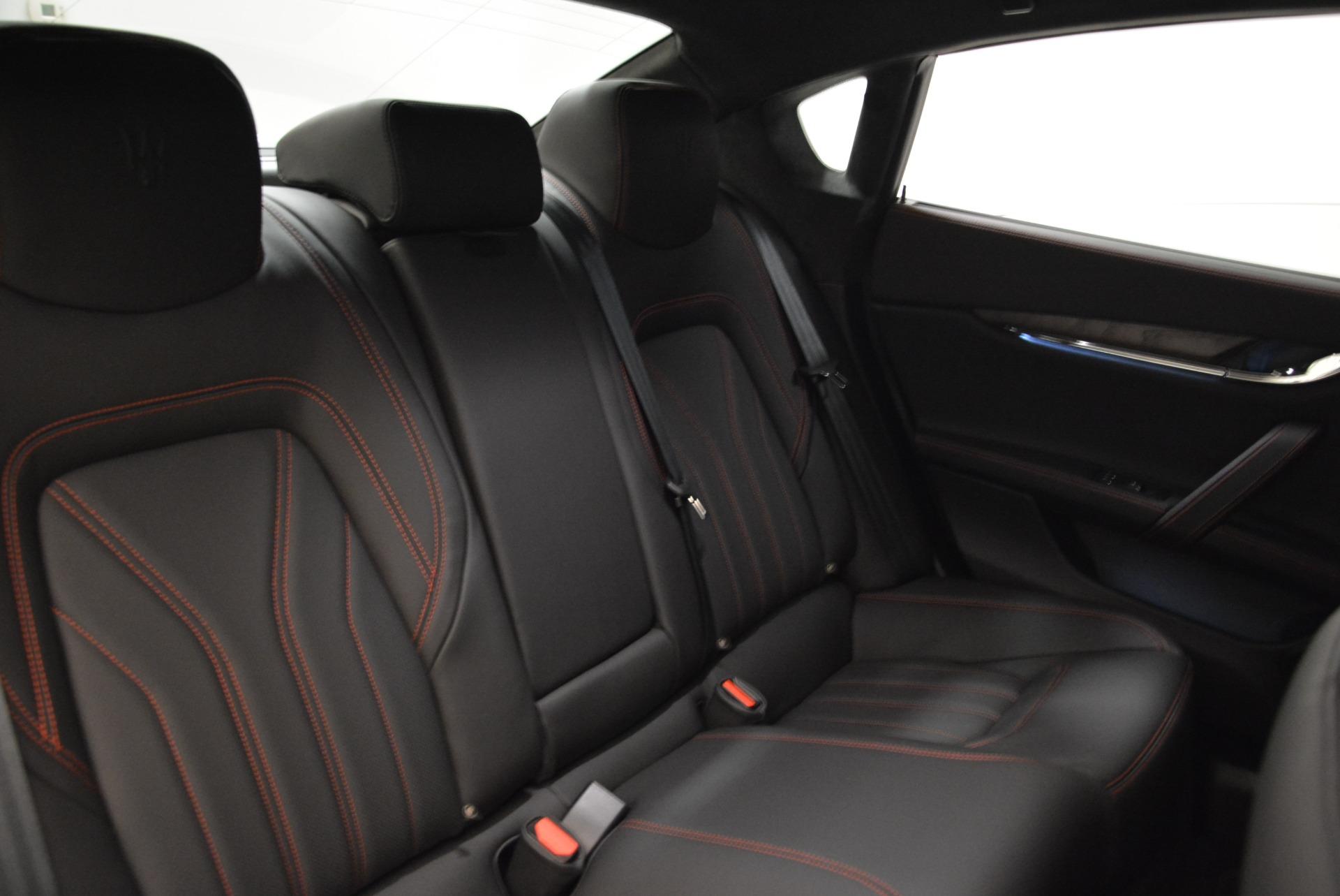 New 2018 Maserati Quattroporte S Q4 GranLusso For Sale In Greenwich, CT 1815_p25