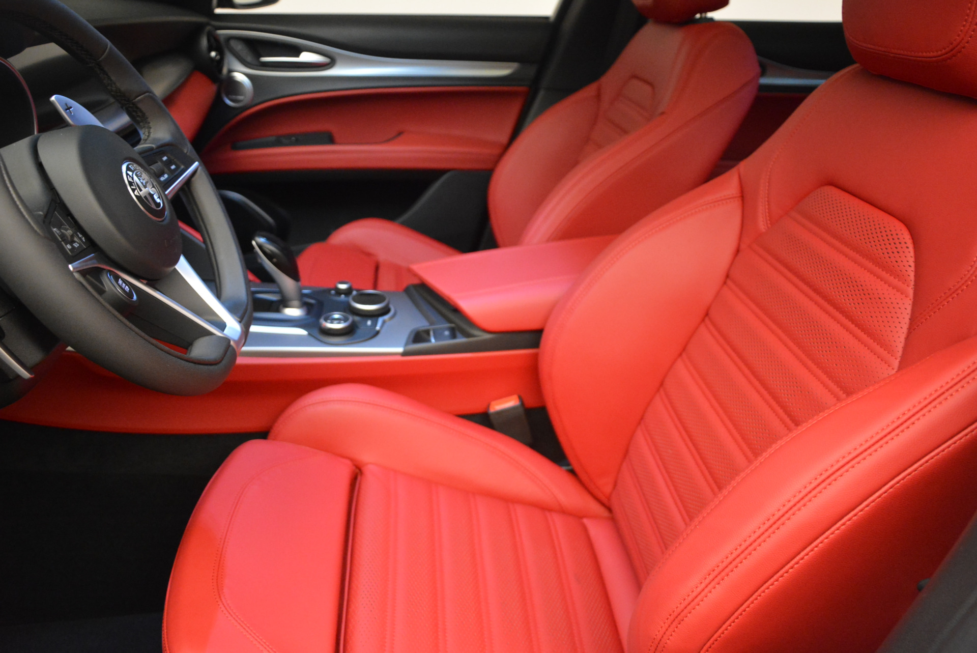 New 2018 Alfa Romeo Stelvio Ti Sport Q4 For Sale In Greenwich, CT 1821_p14
