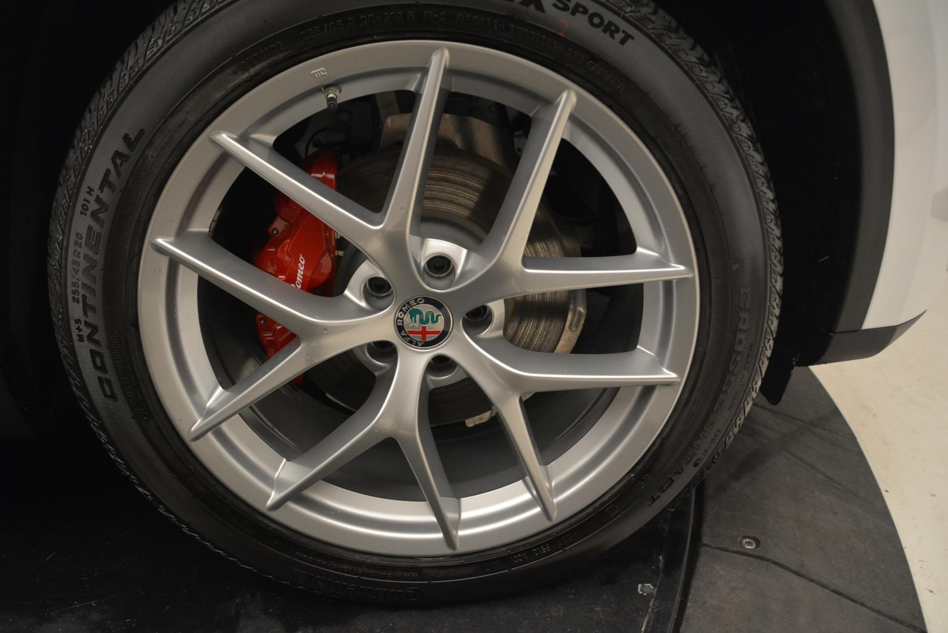 New 2018 Alfa Romeo Stelvio Ti Sport Q4 For Sale In Greenwich, CT 1821_p25