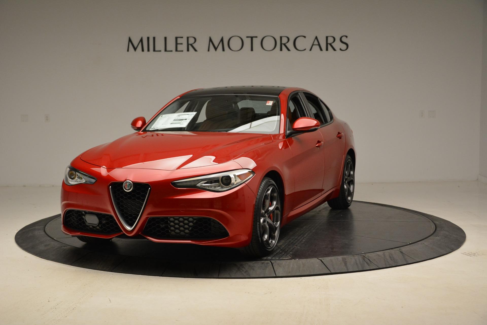 New 2018 Alfa Romeo Giulia Ti Sport Q4 For Sale In Greenwich, CT 1823_main