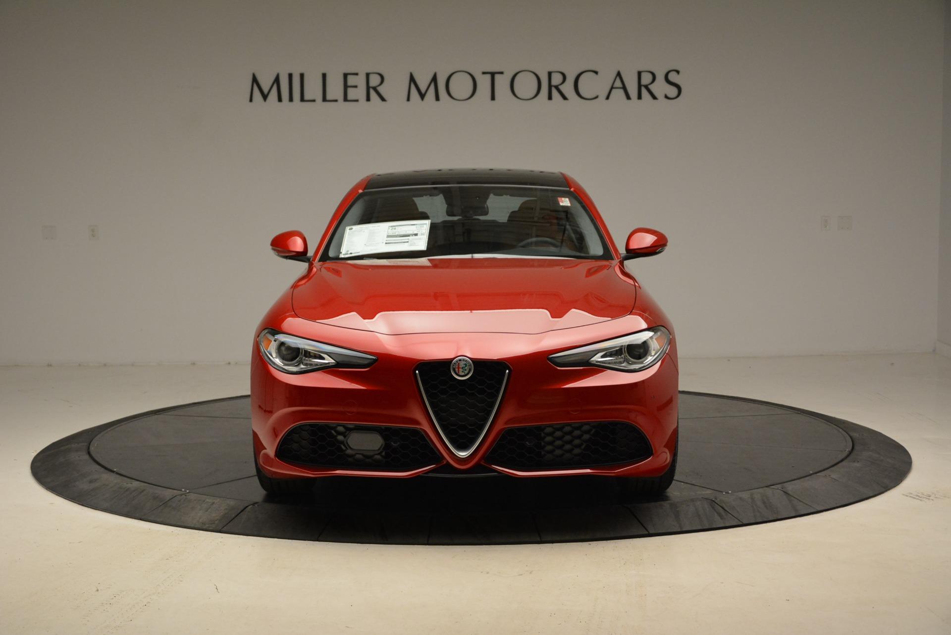 New 2018 Alfa Romeo Giulia Ti Sport Q4 For Sale In Greenwich, CT 1823_p12