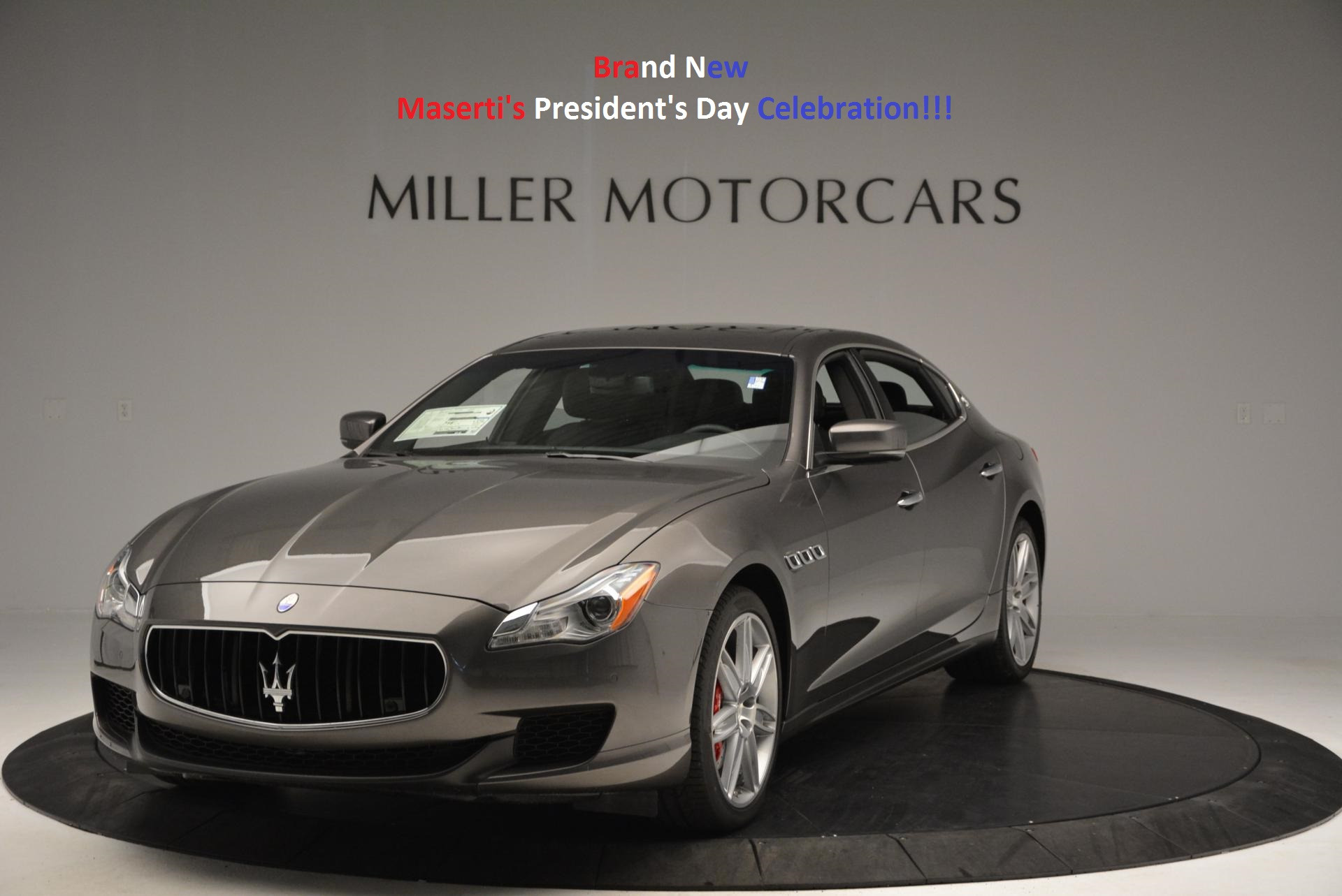 New 2016 Maserati Quattroporte S Q4 For Sale In Greenwich, CT 183_main