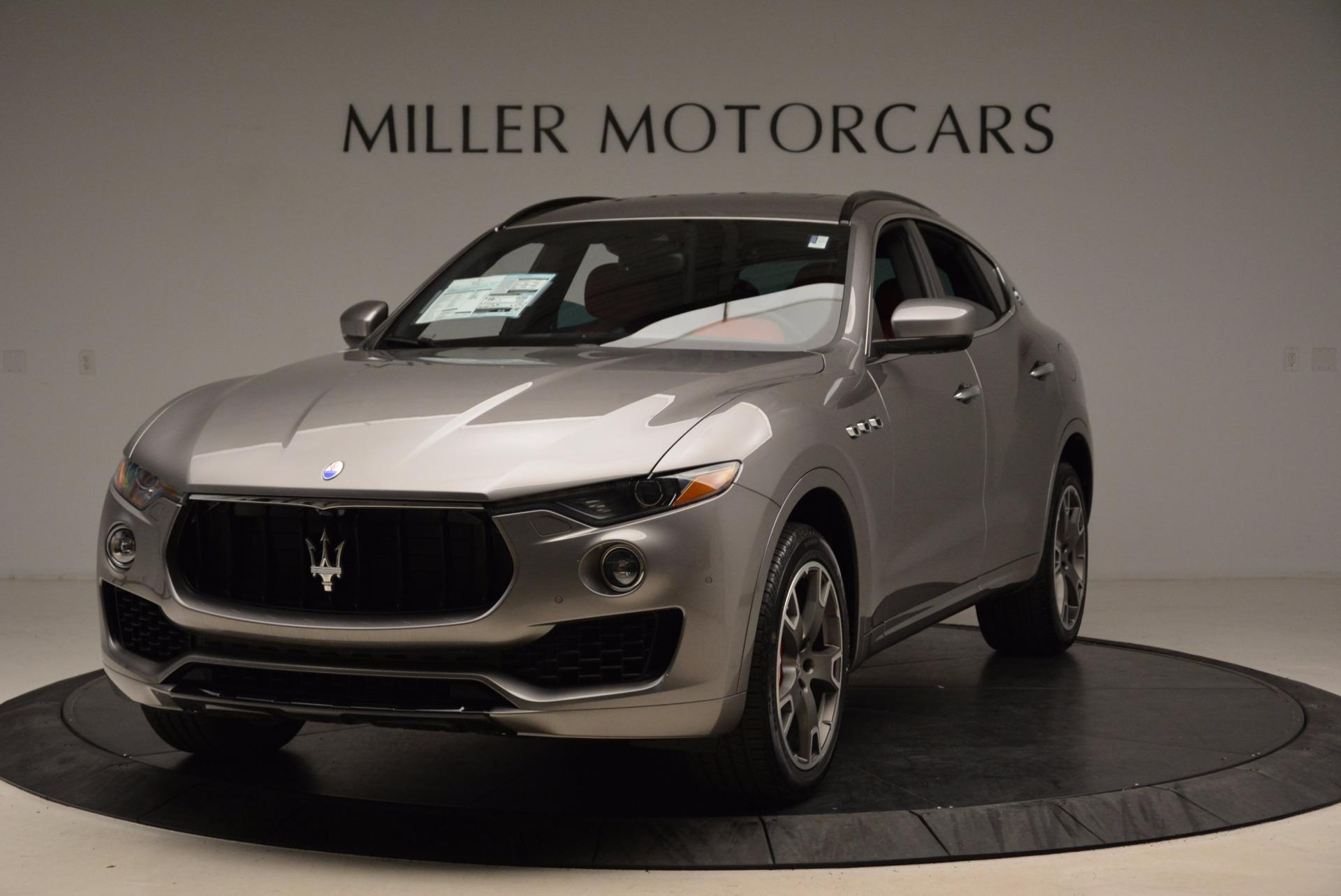 New 2017 Maserati Levante S Q4 For Sale In Greenwich, CT 1832_main