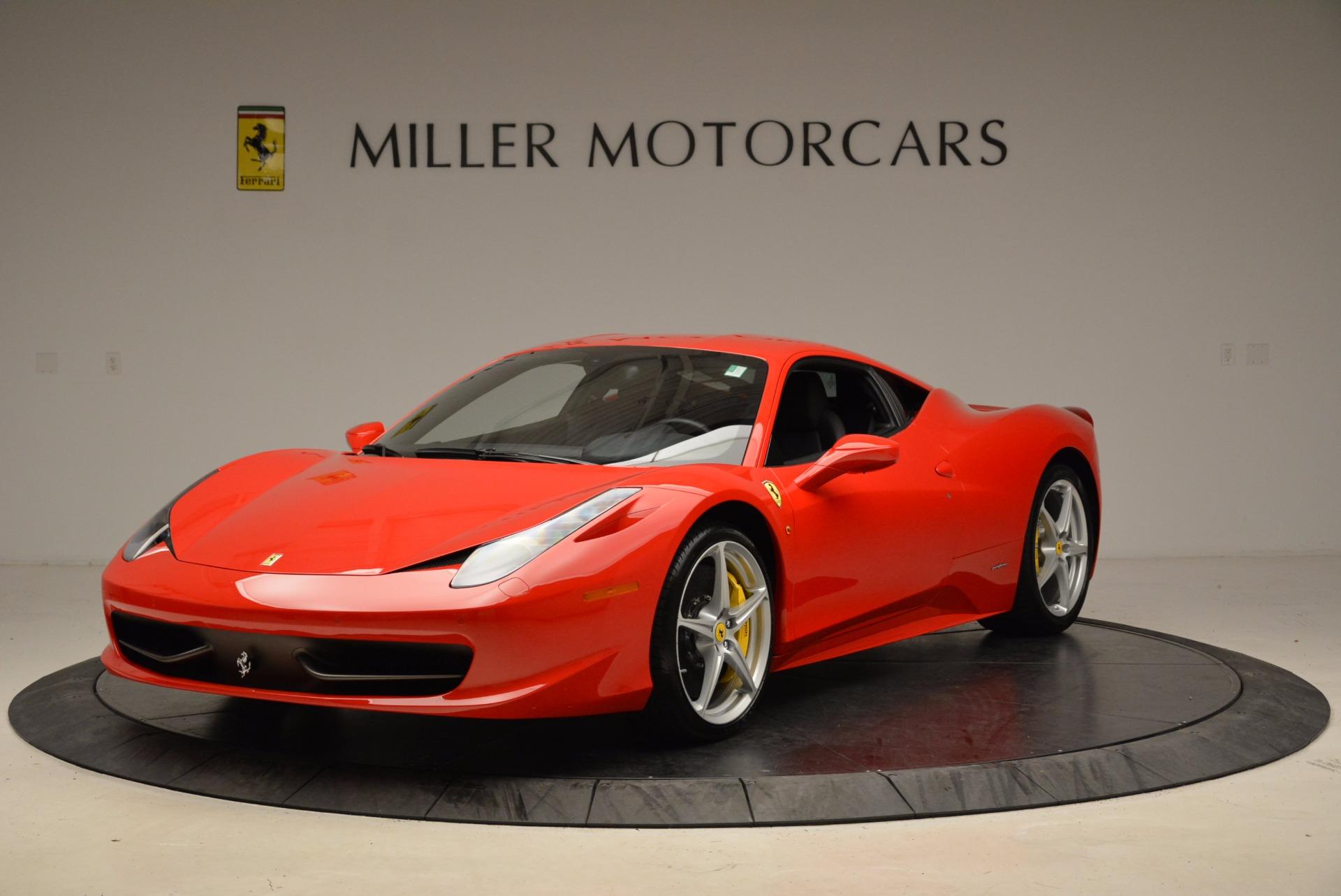 Used 2012 Ferrari 458 Italia  For Sale In Greenwich, CT 1833_main