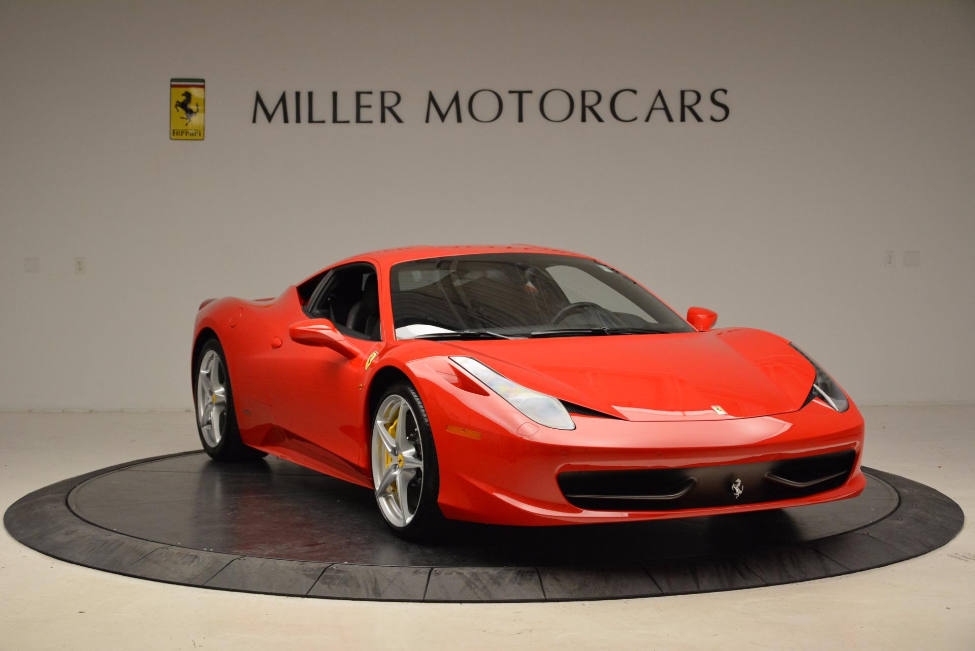 Used 2012 Ferrari 458 Italia  For Sale In Greenwich, CT 1833_p11