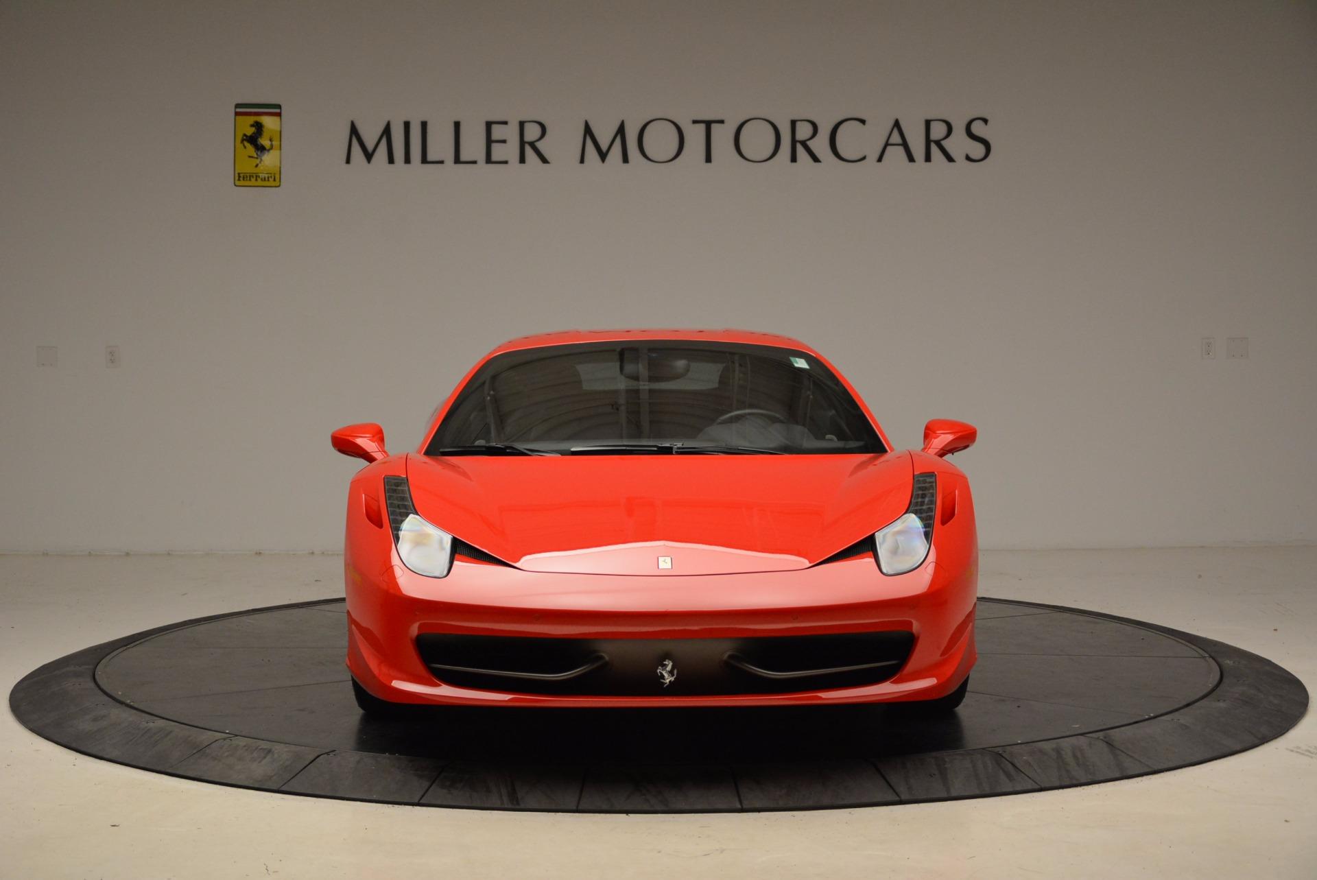 Used 2012 Ferrari 458 Italia  For Sale In Greenwich, CT 1833_p12