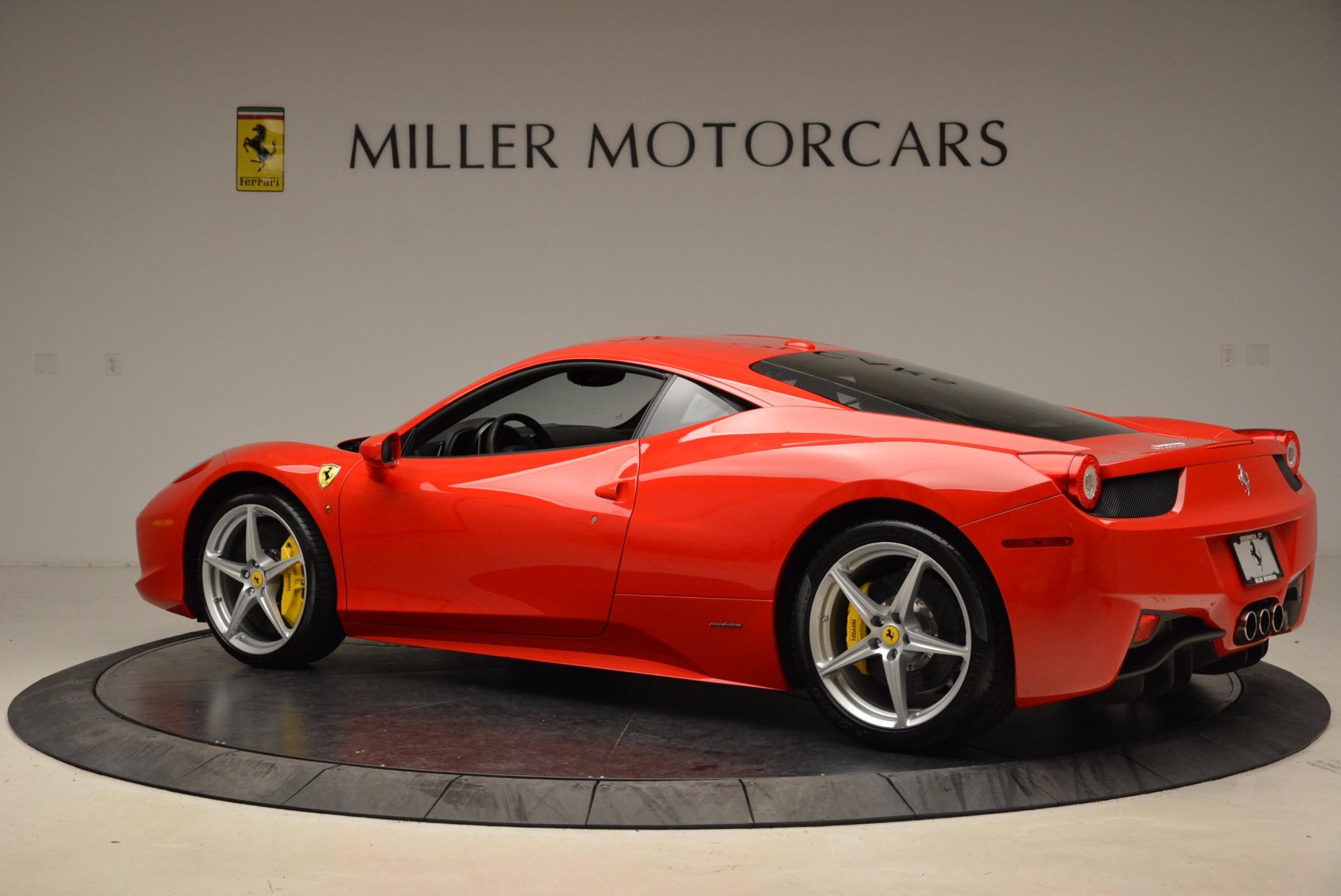Used 2012 Ferrari 458 Italia  For Sale In Greenwich, CT 1833_p4