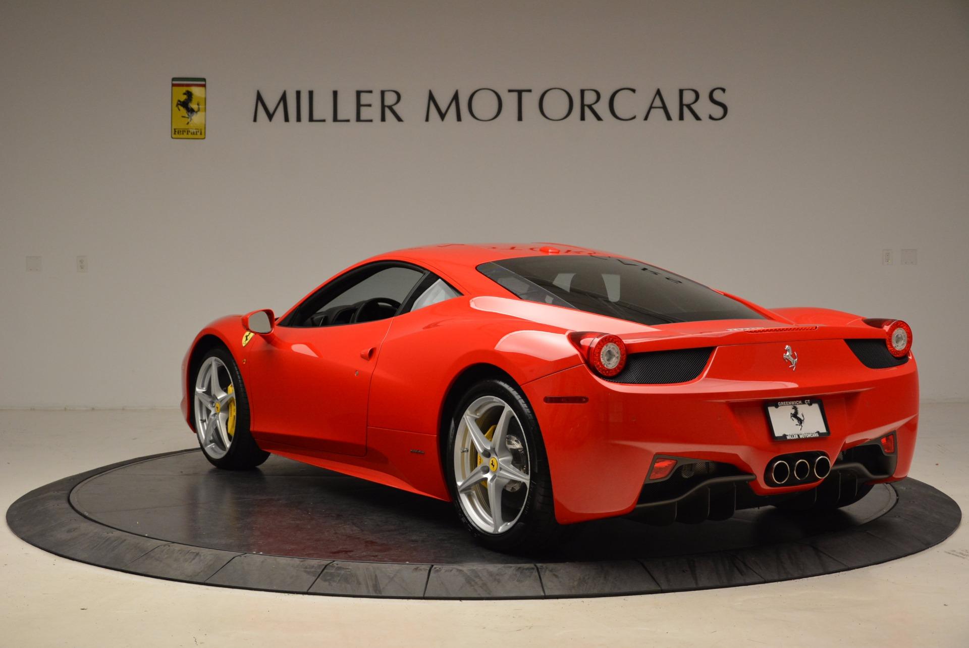 Used 2012 Ferrari 458 Italia  For Sale In Greenwich, CT 1833_p5