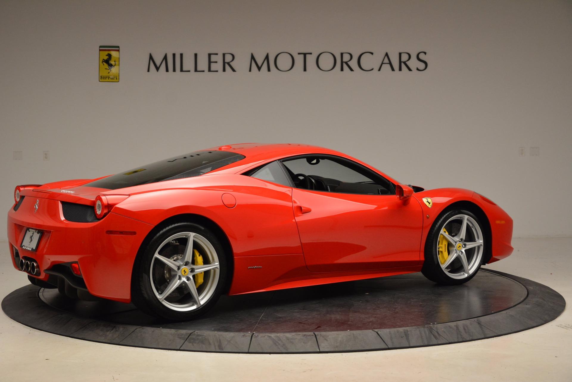 Used 2012 Ferrari 458 Italia  For Sale In Greenwich, CT 1833_p8