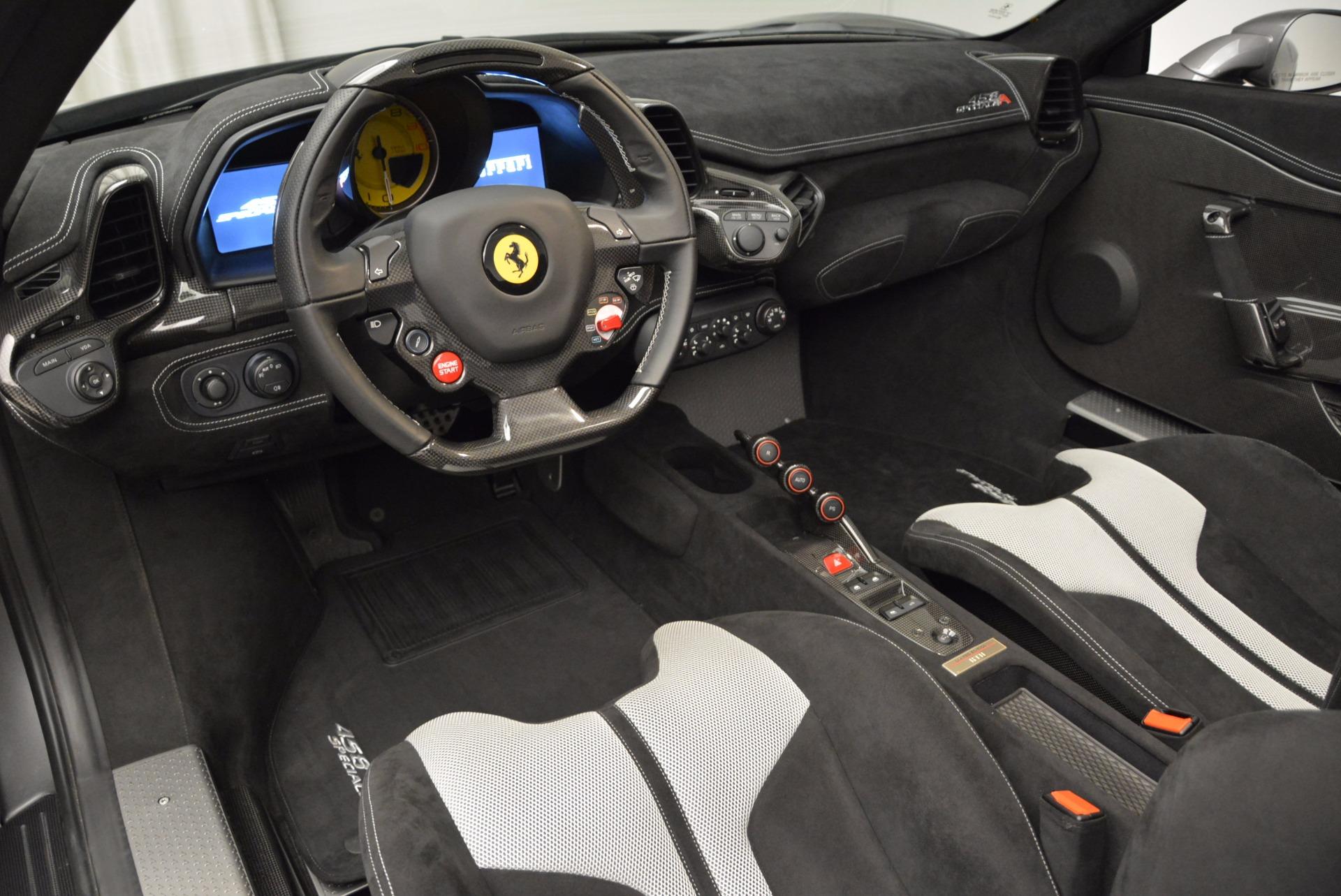 Used 2015 Ferrari 458 Speciale Aperta  For Sale In Greenwich, CT 1847_p27