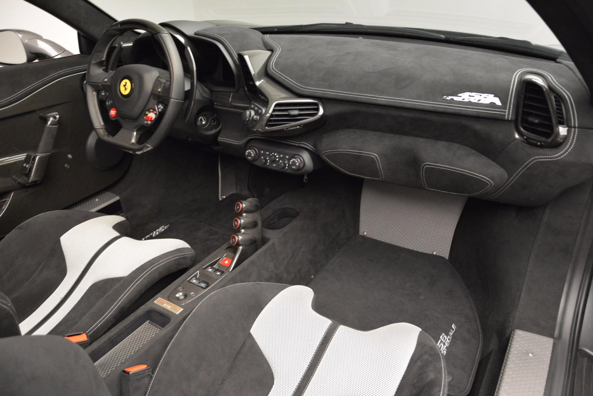 Used 2015 Ferrari 458 Speciale Aperta  For Sale In Greenwich, CT 1847_p30