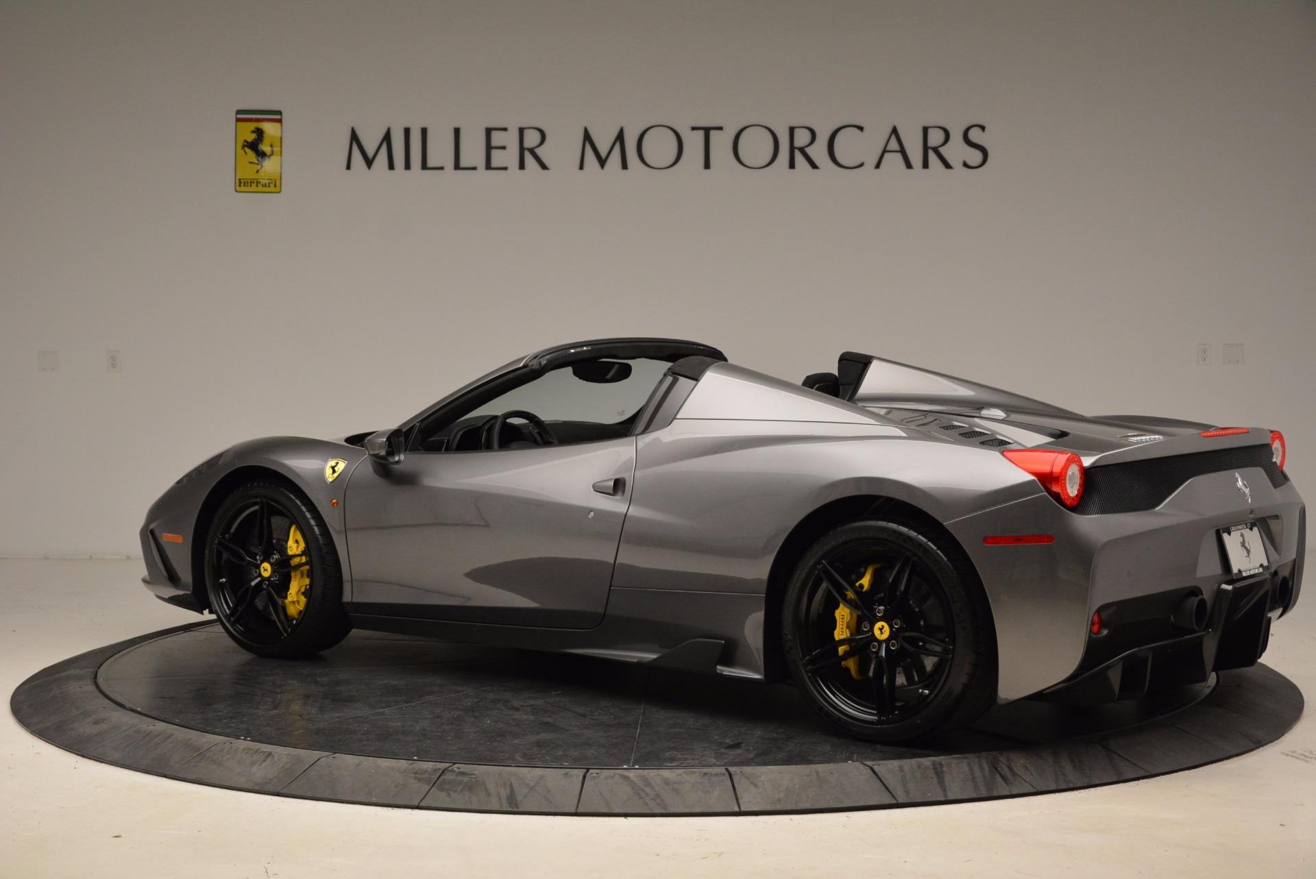 Used 2015 Ferrari 458 Speciale Aperta  For Sale In Greenwich, CT 1847_p4