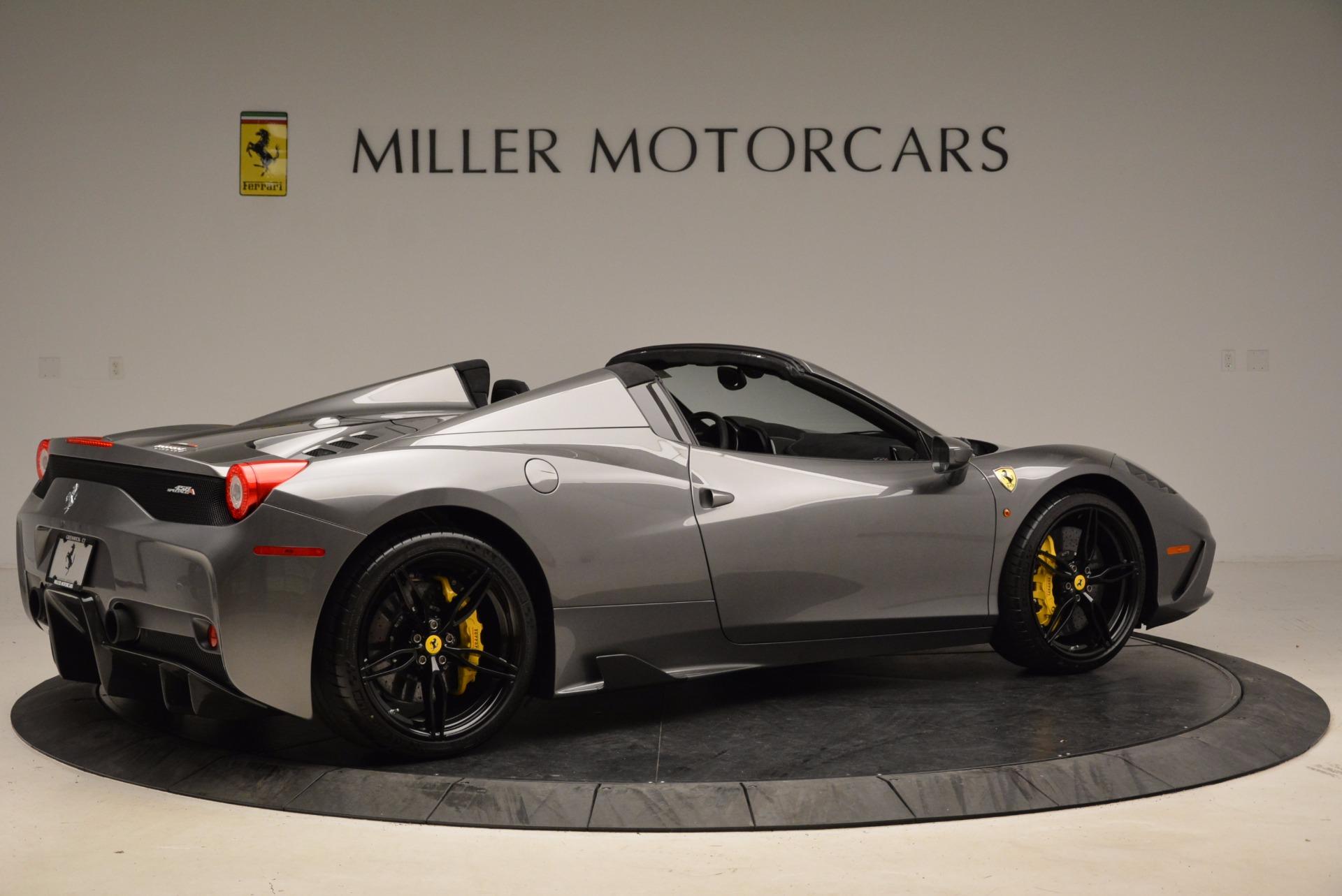 Used 2015 Ferrari 458 Speciale Aperta  For Sale In Greenwich, CT 1847_p8