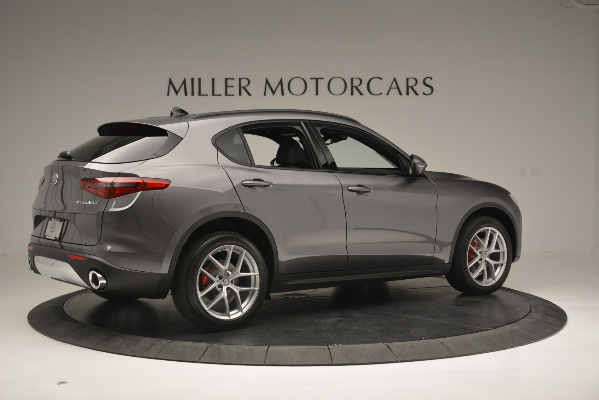 New 2018 Alfa Romeo Stelvio Ti Sport Q4 For Sale In Greenwich, CT 1850_p8