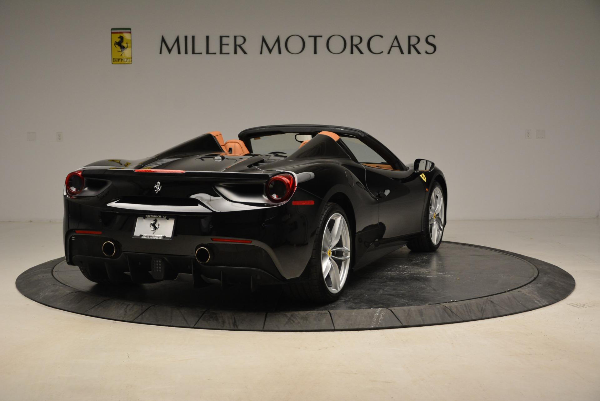 Used 2017 Ferrari 488 Spider  For Sale In Greenwich, CT 1853_p7