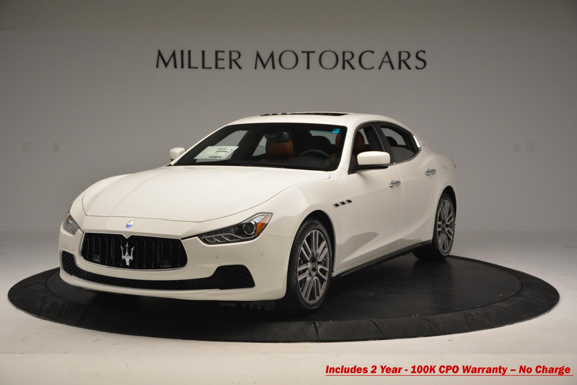 Used 2016 Maserati Ghibli S Q4 For Sale In Greenwich, CT 186_main
