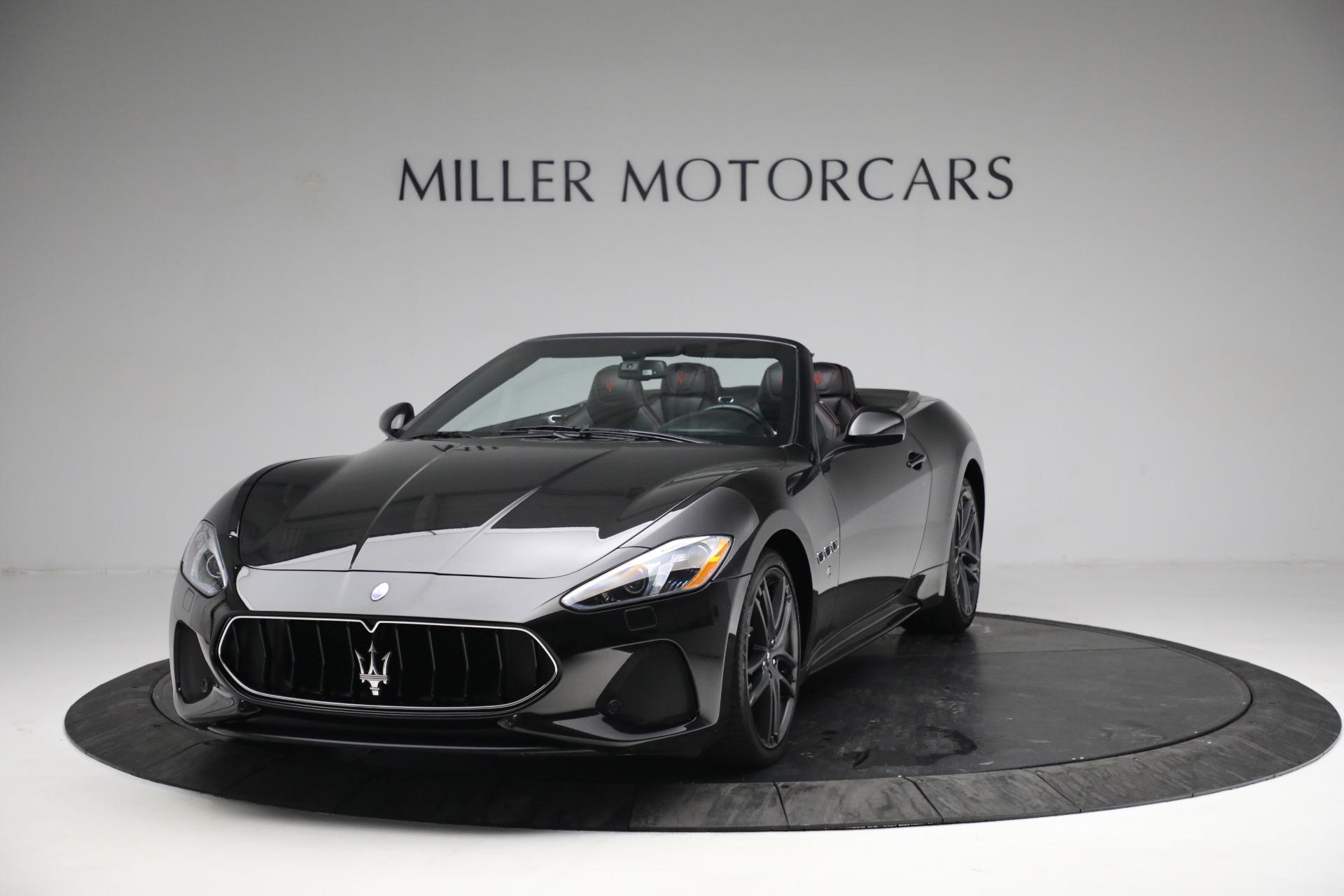 New 2018 Maserati GranTurismo Sport Convertible For Sale In Greenwich, CT 1863_main
