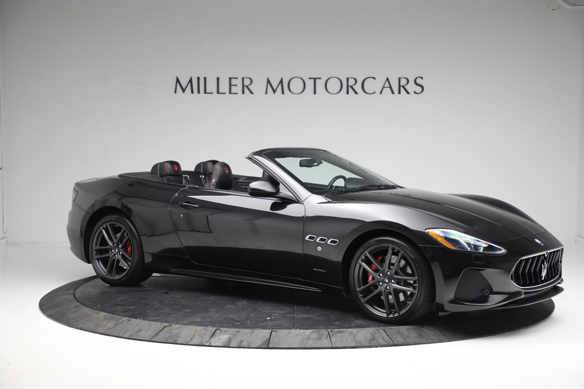New 2018 Maserati GranTurismo Sport Convertible For Sale In Greenwich, CT 1863_p10
