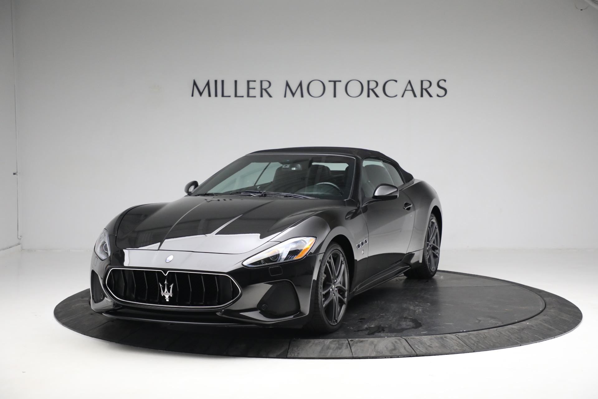 New 2018 Maserati GranTurismo Sport Convertible For Sale In Greenwich, CT 1863_p13