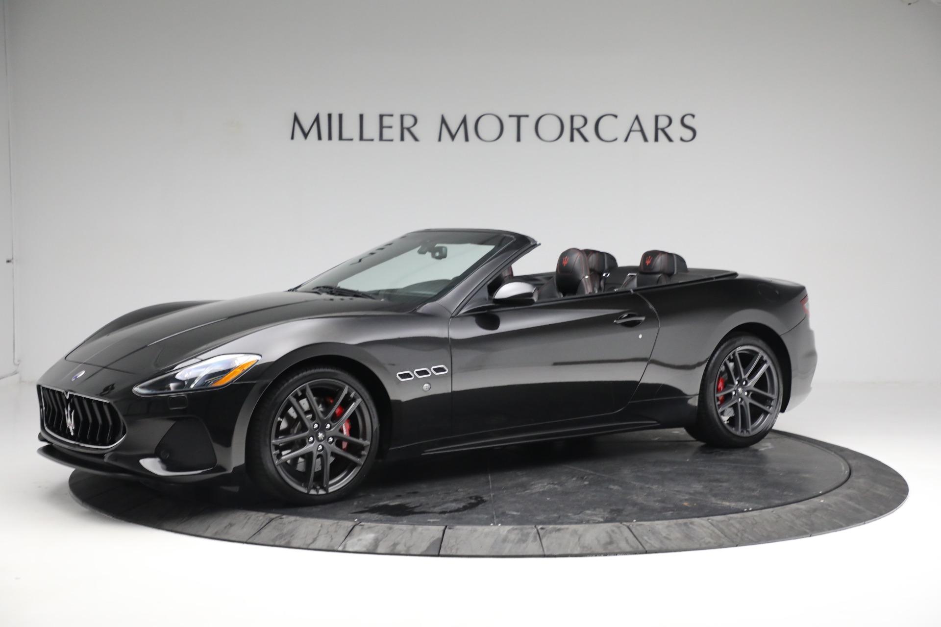 New 2018 Maserati GranTurismo Sport Convertible For Sale In Greenwich, CT 1863_p2