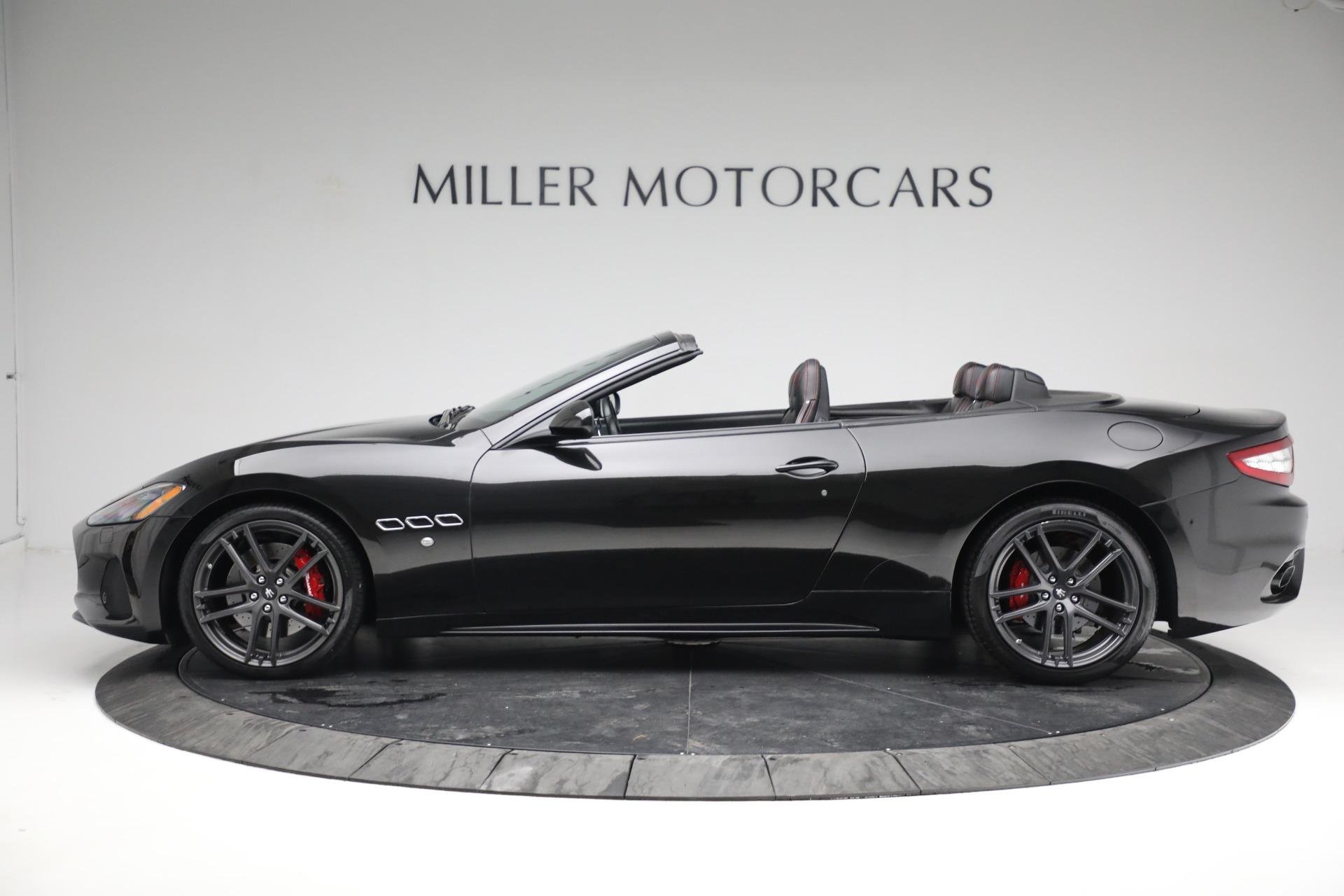 New 2018 Maserati GranTurismo Sport Convertible For Sale In Greenwich, CT 1863_p3