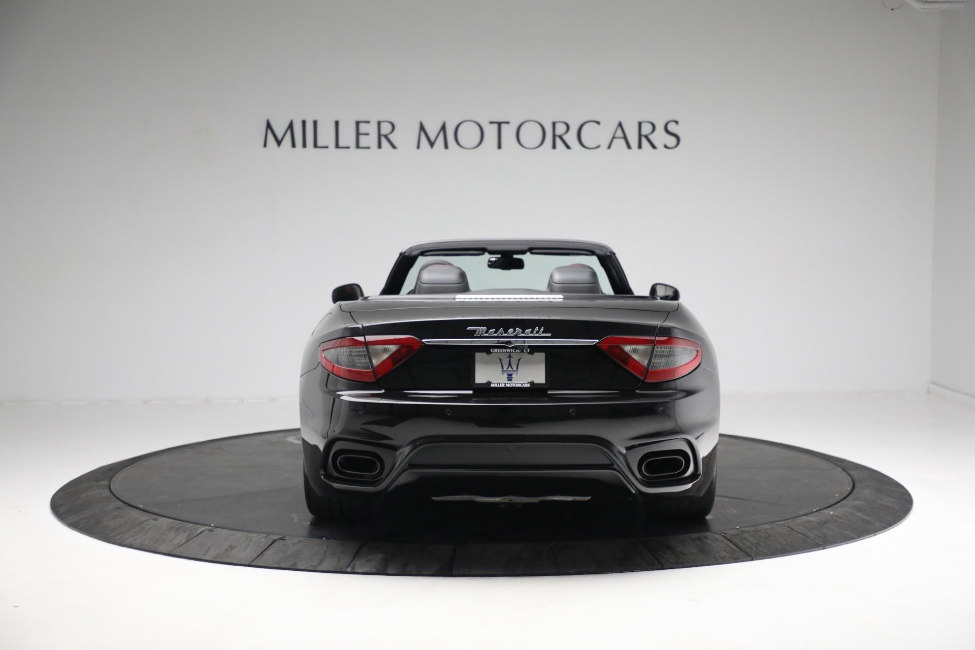 New 2018 Maserati GranTurismo Sport Convertible For Sale In Greenwich, CT 1863_p6