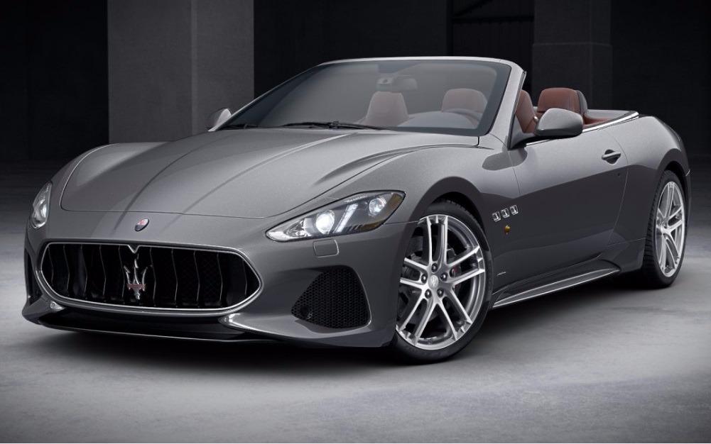 New 2018 Maserati GranTurismo Sport Convertible For Sale In Greenwich, CT 1864_main