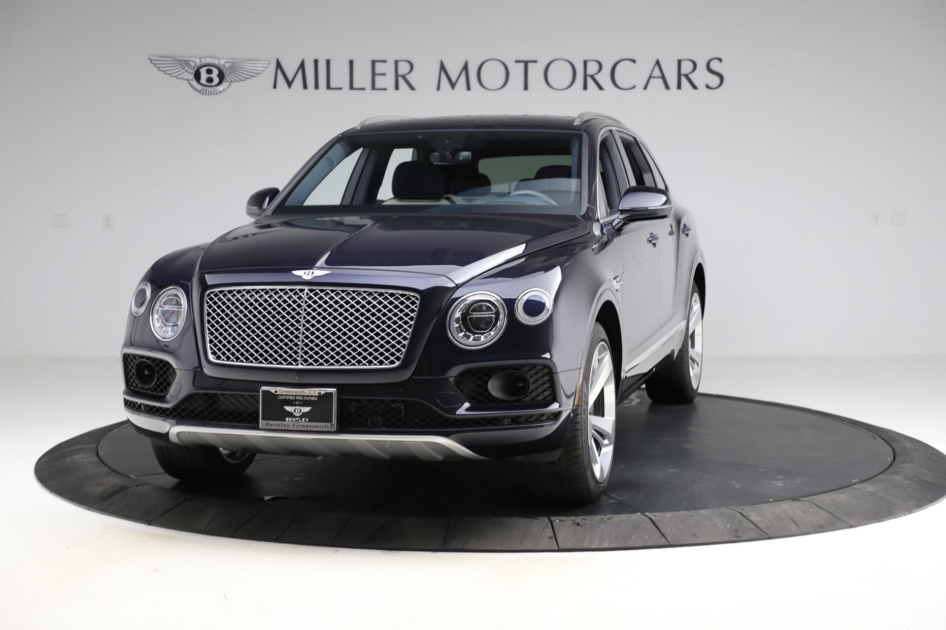 New 2018 Bentley Bentayga Signature For Sale In Greenwich, CT 1873_main