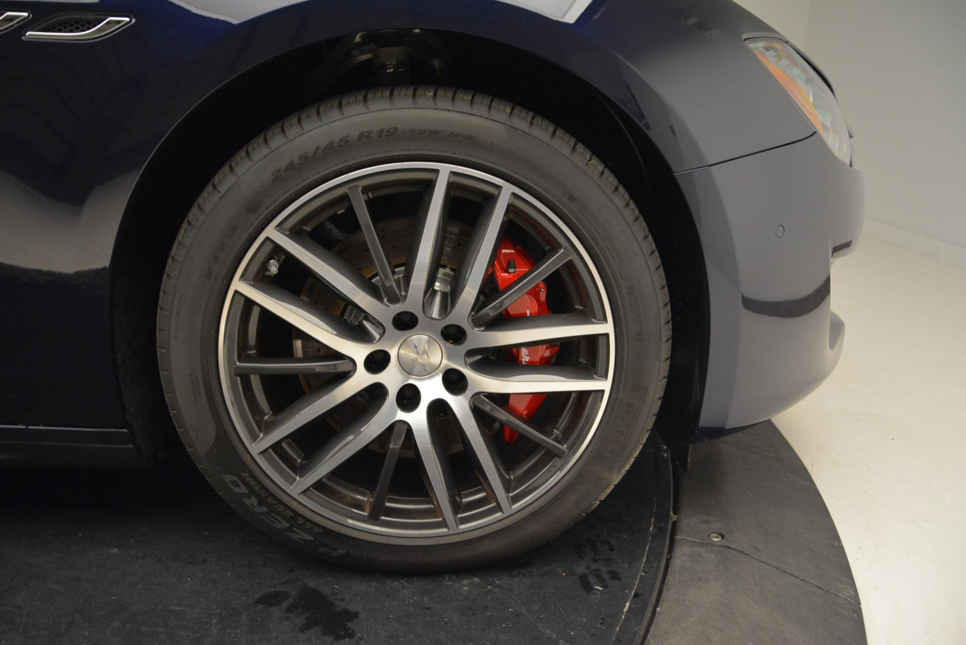 New 2018 Maserati Ghibli S Q4 For Sale In Greenwich, CT 1894_p27