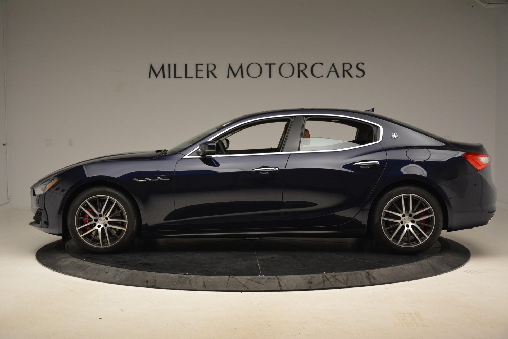 New 2018 Maserati Ghibli S Q4 For Sale In Greenwich, CT 1894_p3