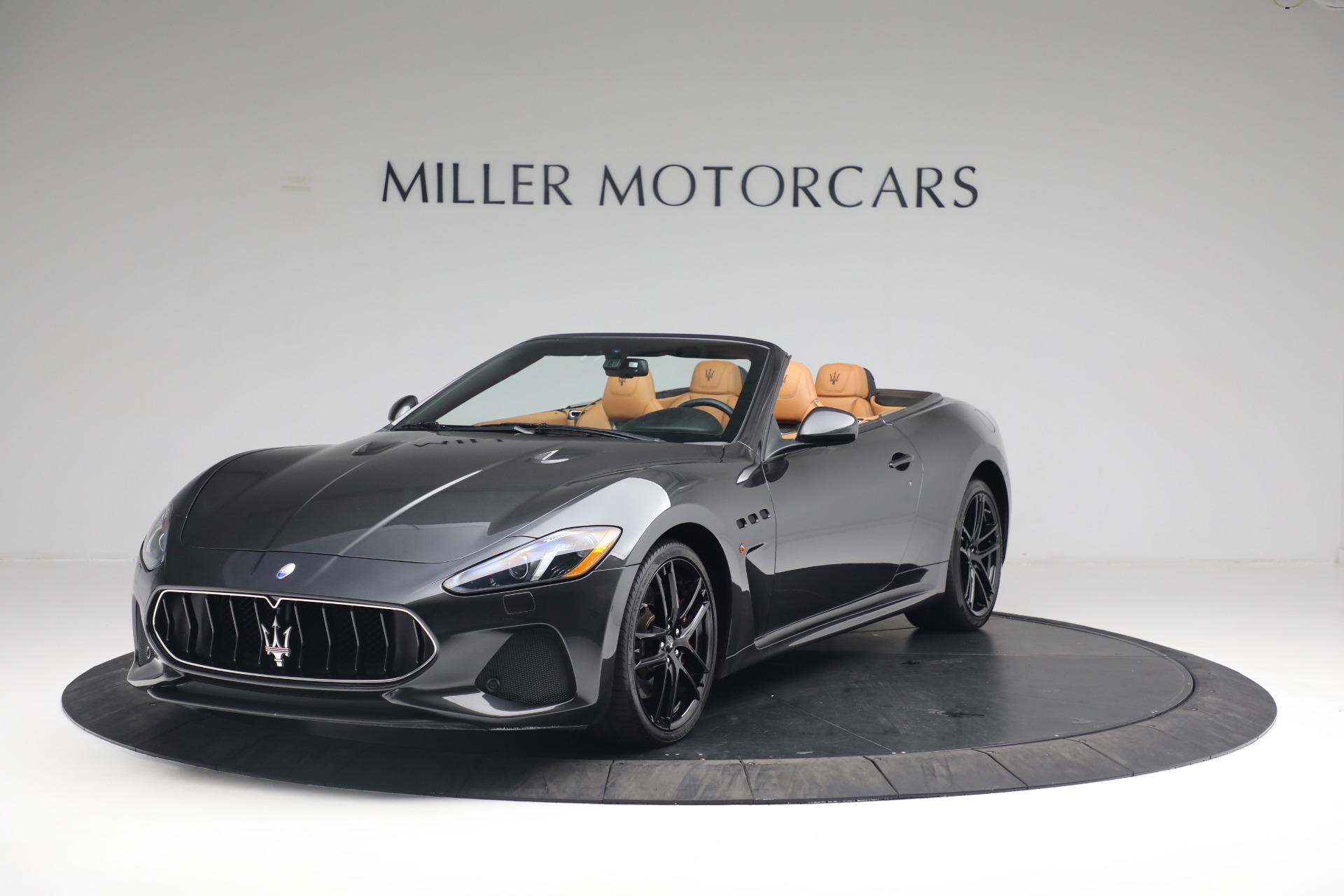 New 2018 Maserati GranTurismo MC Convertible For Sale In Greenwich, CT 1933_main