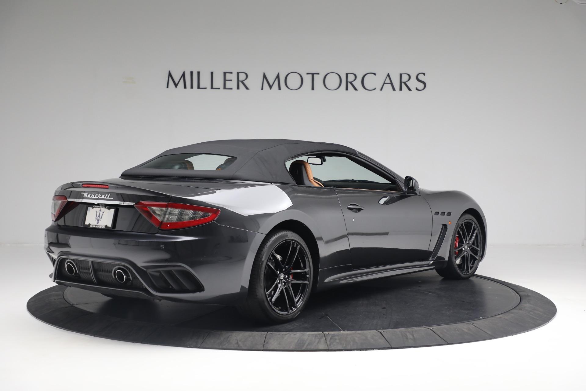 New 2018 Maserati GranTurismo MC Convertible For Sale In Greenwich, CT 1933_p16