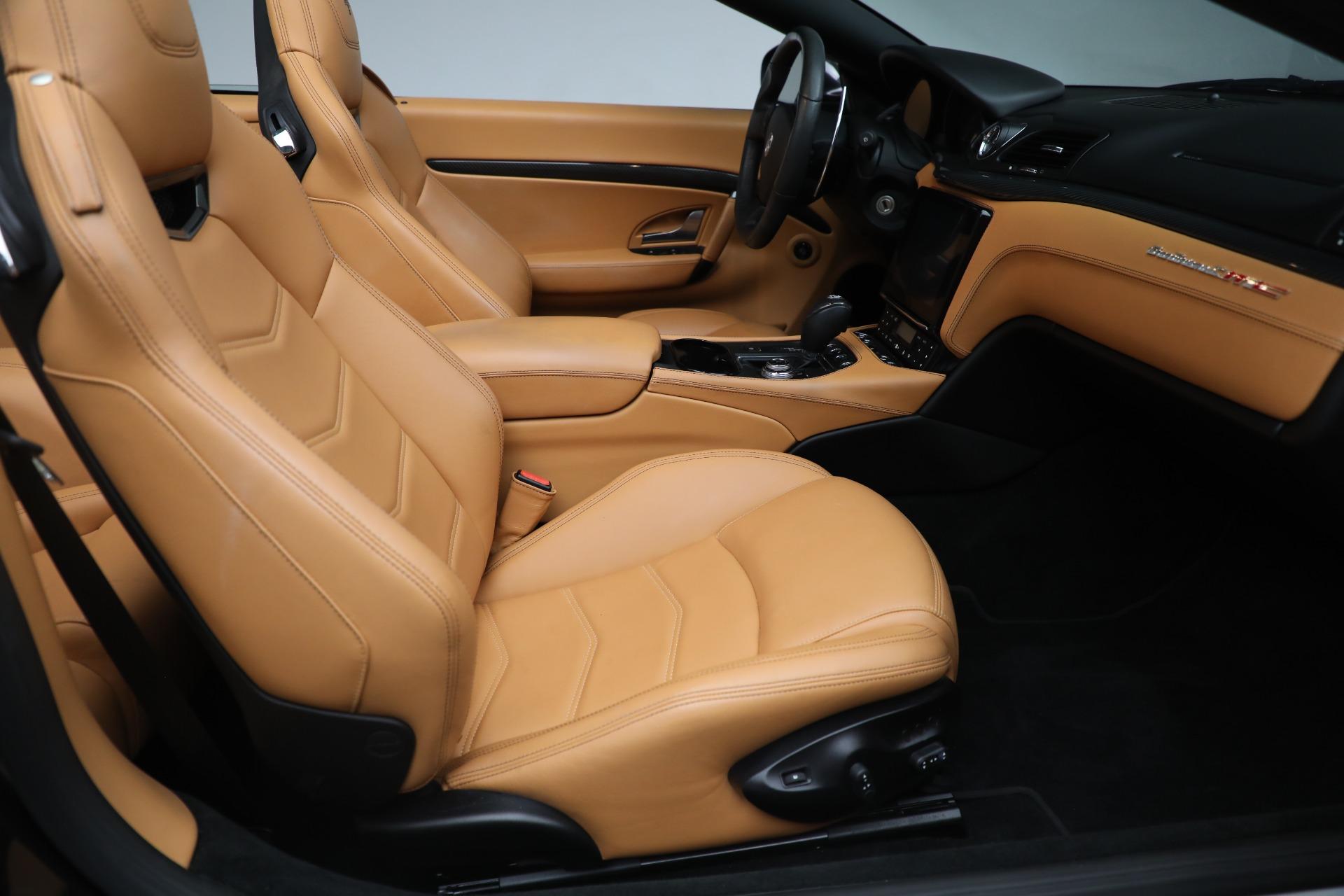 New 2018 Maserati GranTurismo MC Convertible For Sale In Greenwich, CT 1933_p24